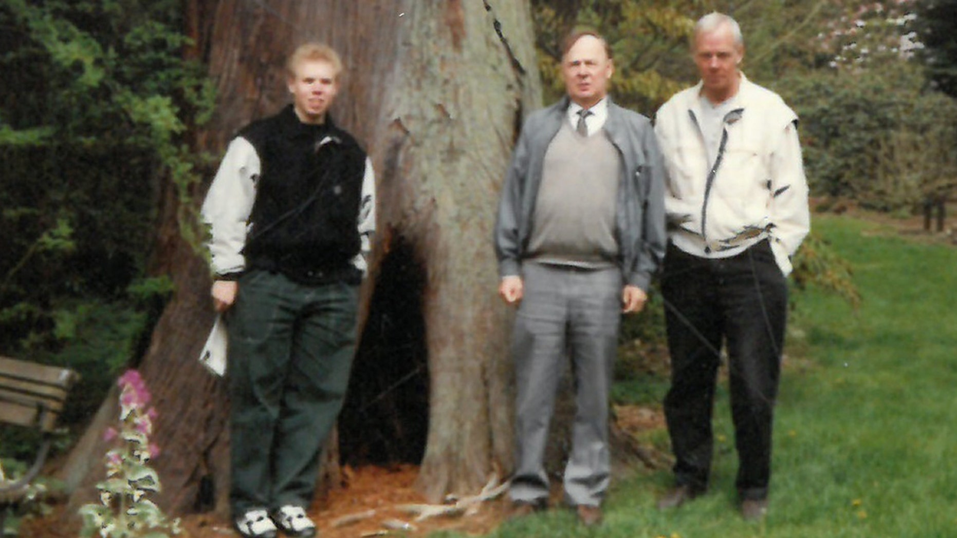 Elis Gosta Hjukstrom, center, died of cancer in 2017 at 87 years of age, leaving a Canadian import and distribution business and a Swedish family estate. He bequeathed those assets, totaling $14 million, to a man determined not to be his son. (Onyx Law)