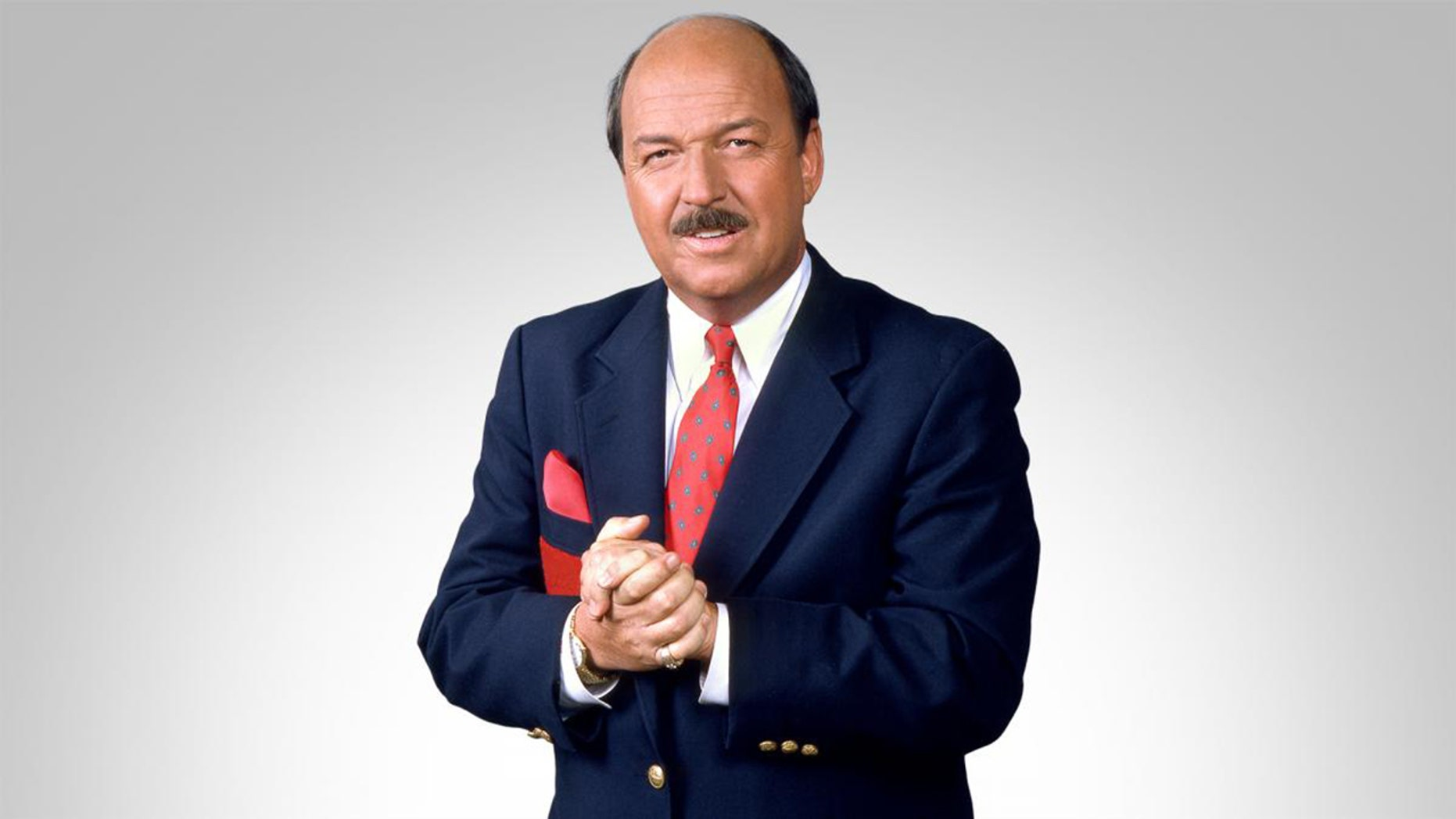 """""""Mean"""" Gene Okerlund, WWE's famous announcer, died at age 76."""