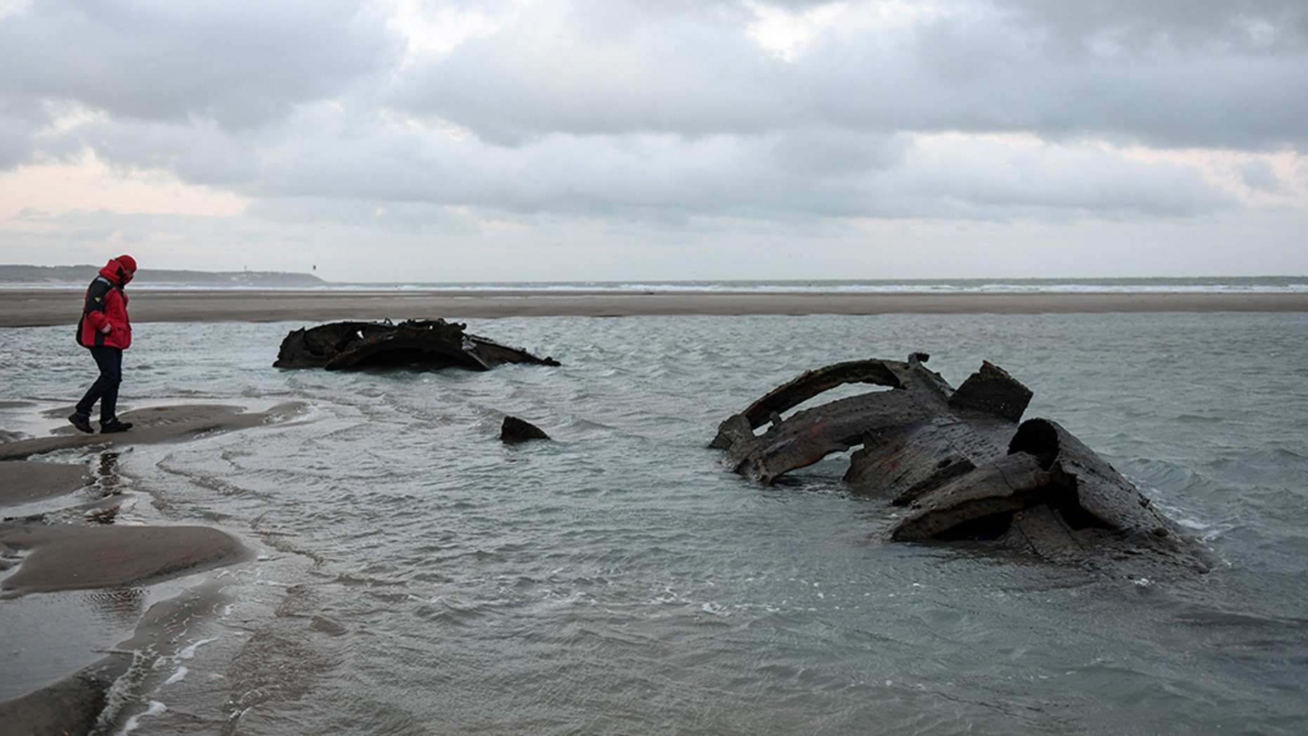 A century-old German submarine from WWI has been dumped in northern France