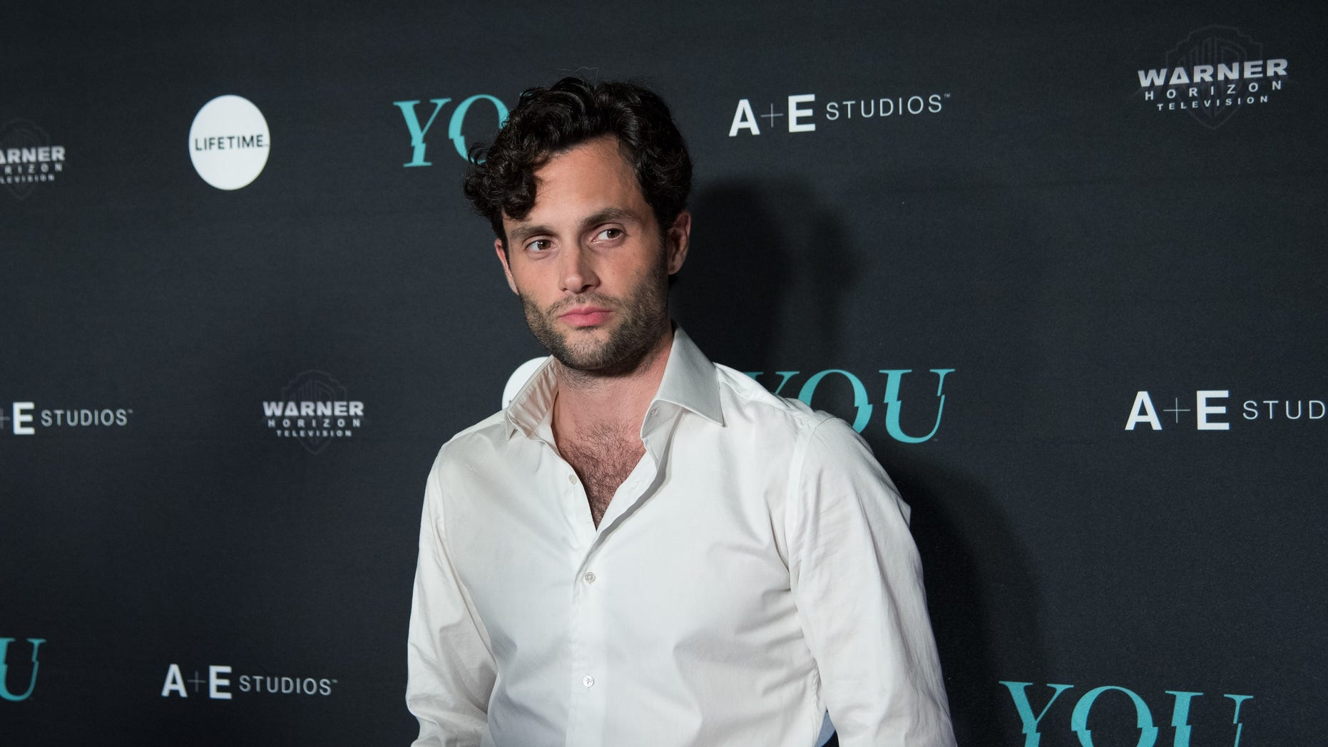 "Penn Badgley called out fans who were swooning over his character in the Lifetime show ""You."""