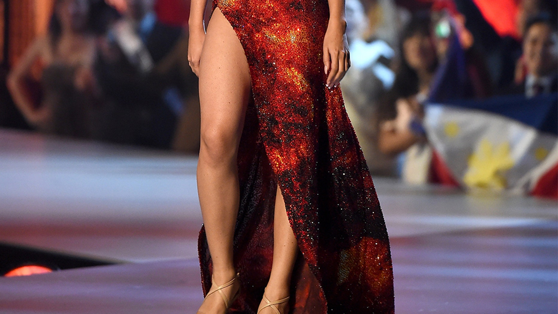 Miss Philippines Catriona Gray during the 2018 Miss Universe competition. — Getty