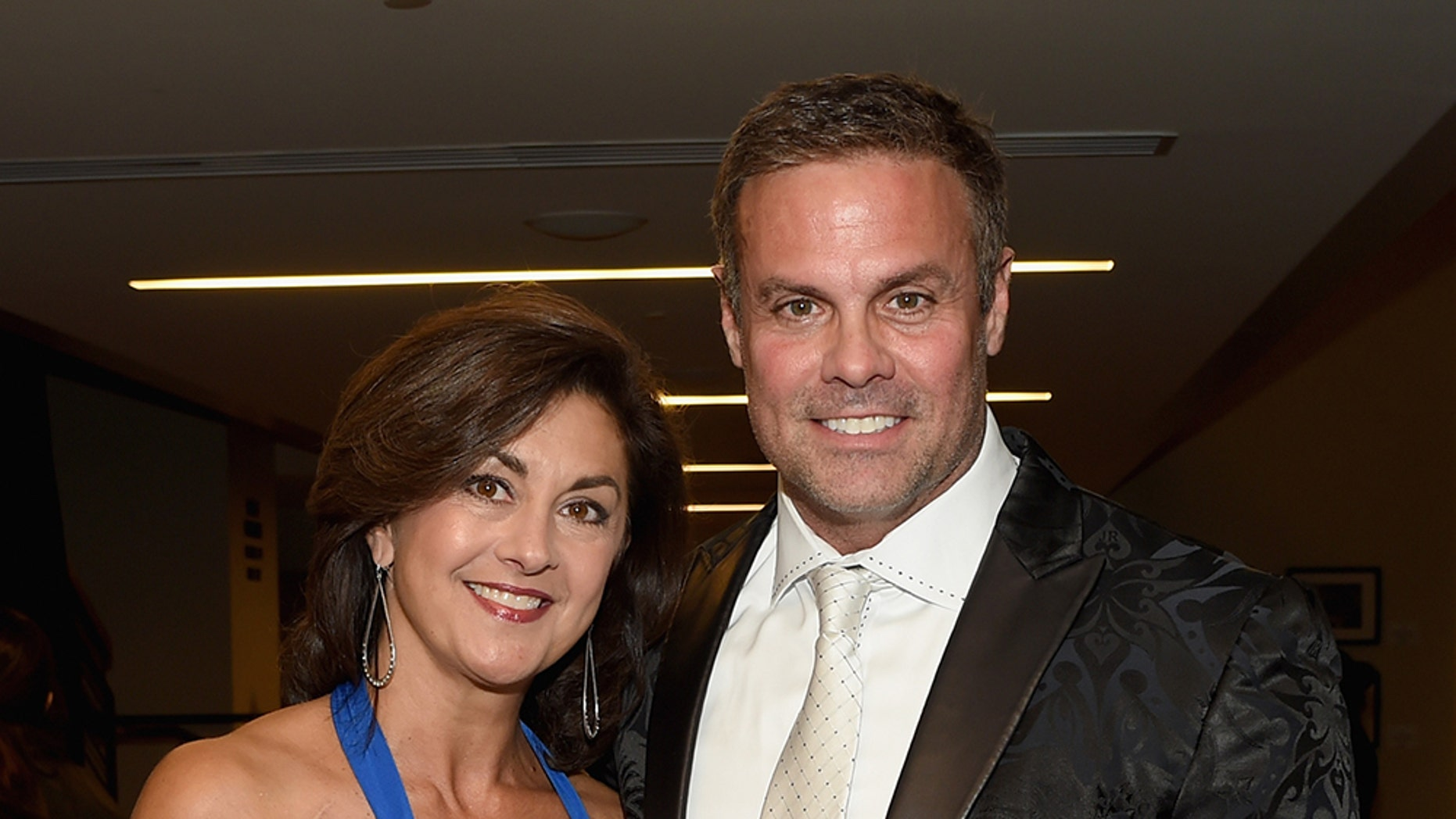 Angie Gentry and Troy Gentry attend The 2016 Medallion Ceremony at the Country Music Hall of Fame and Museum on October 16, 2016 in Nashville, Tennessee. — Getty