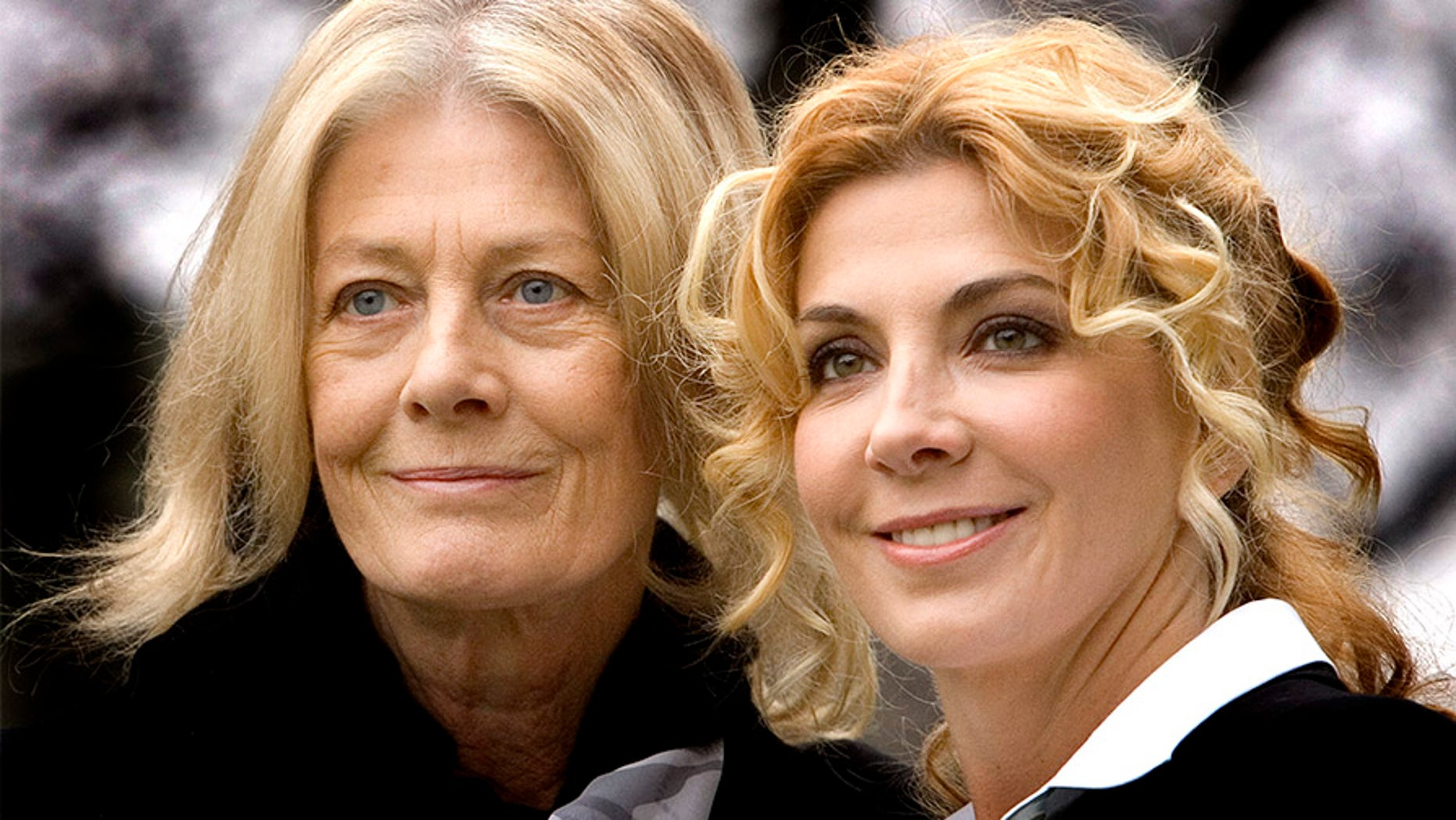 "British actresses Vanessa Redgrave and her daughter Natasha Richardson pose during a photocall of the movie ""The White Countess"" directed by US director James Ivory. — Getty"