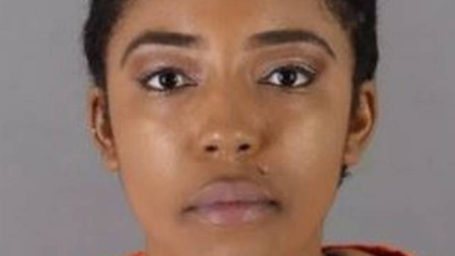 Akilah Hasan, 26, was arrested Sunday and charged with suspicion of burglary and robbery, authorities say.