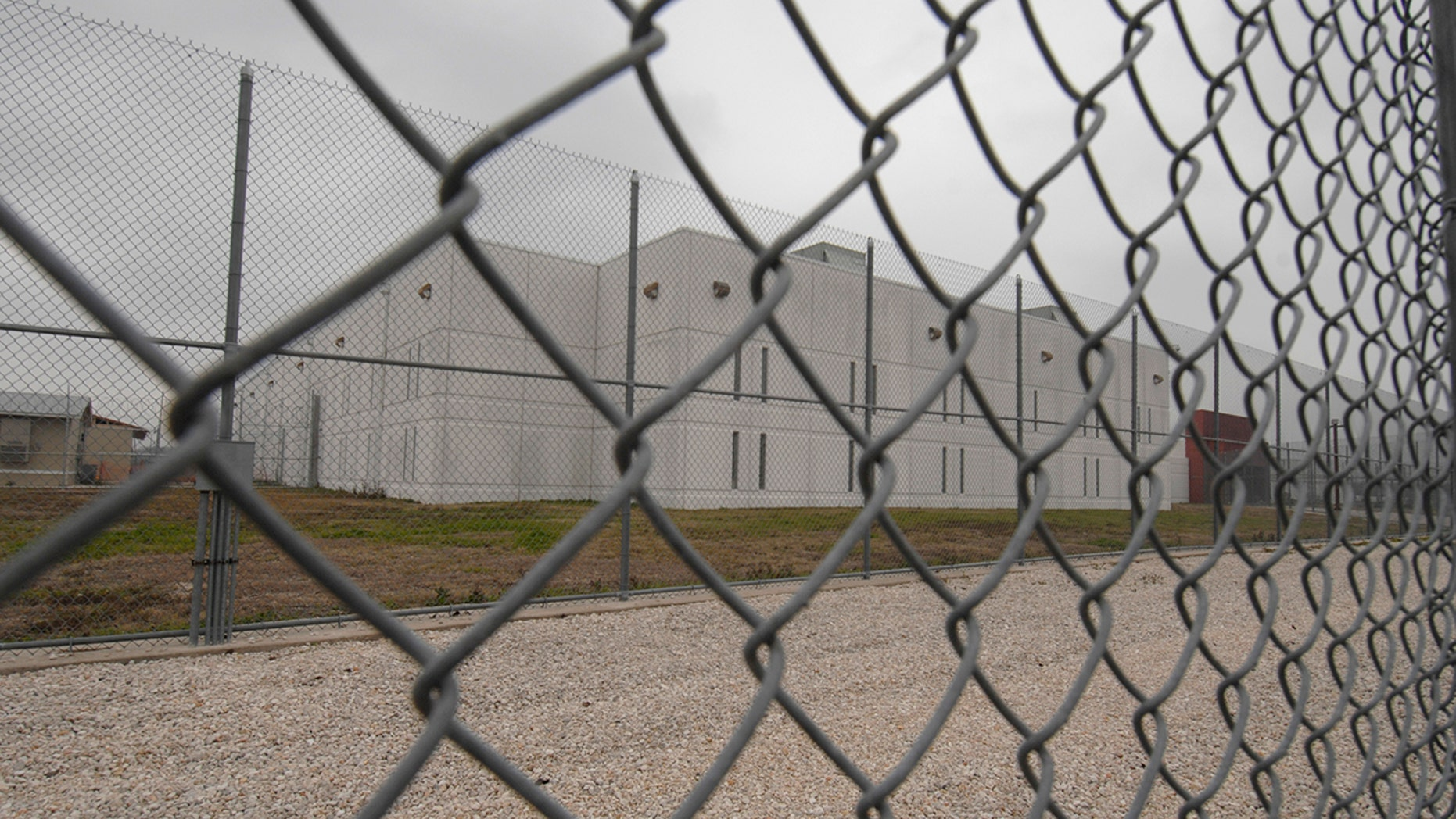 FILE: ICE officials are reportedly being force-fed at an immigration detention center in El Paso, Texas. Above is another institution in the state. (Getty Images)