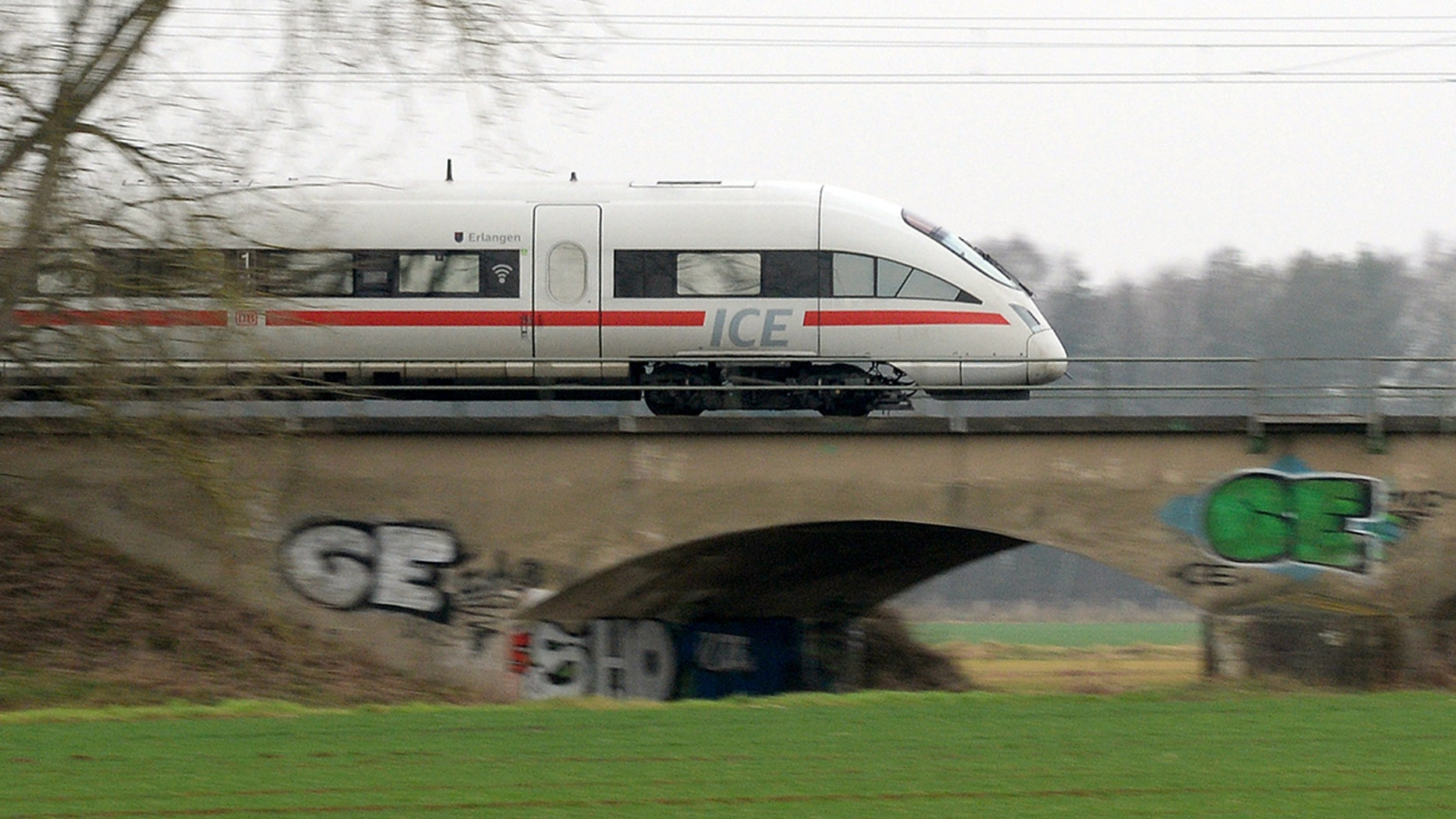 The driver of a German train that missed its stop this week reportedly was found to be drunk.