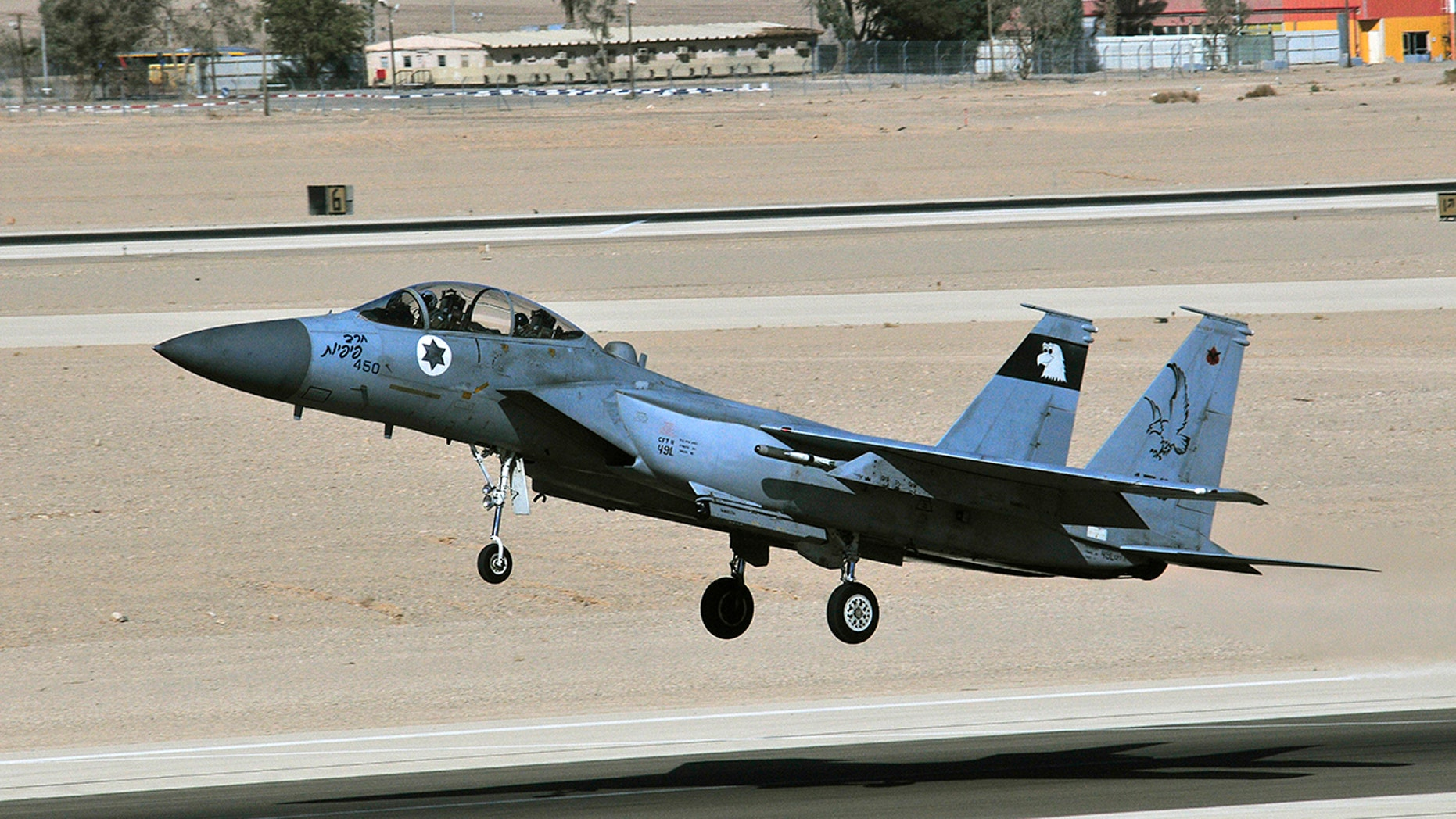 Israel's entire F-15 fleet has been grounded after a cockpit canopy detached from an aircraft last week.