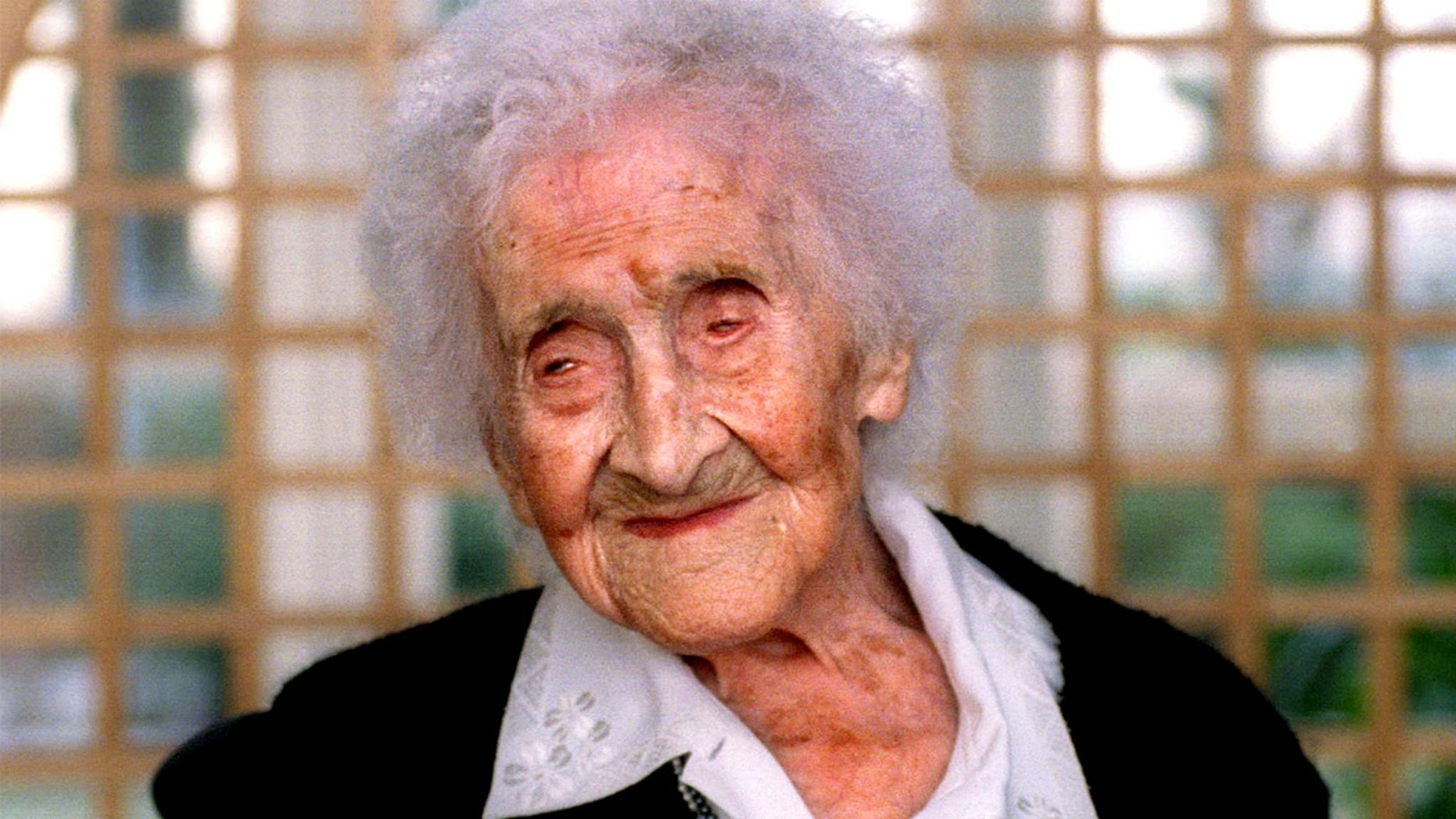 Jeanne Calment holds the record for being the world's oldest person. She died in 1997 at the age of 122.