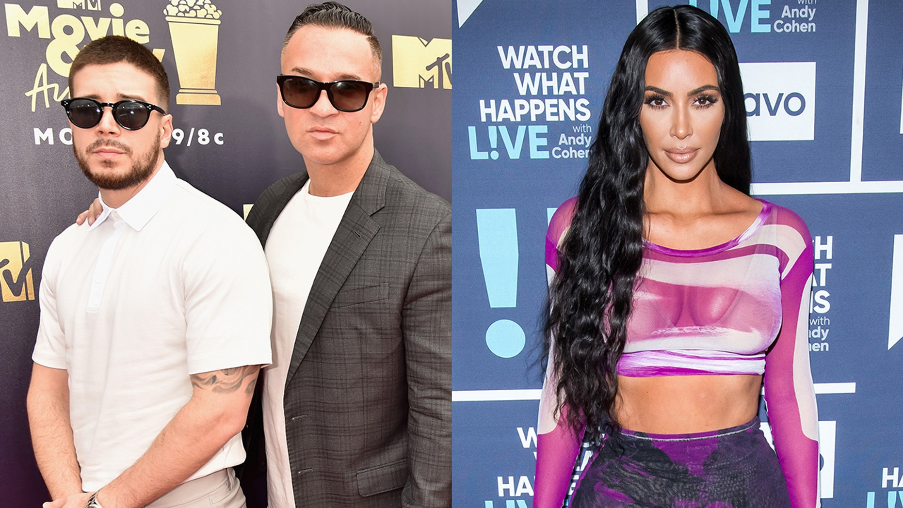 Vinny from 'Jersey Shore' asked if Kim Kardashian could help get Mike 'The Situation' out of jail.