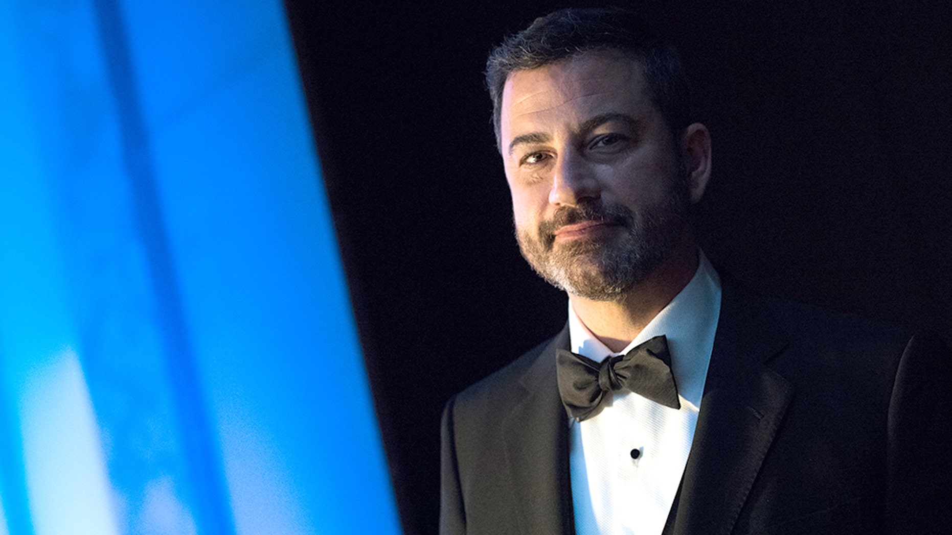 "Jimmy Kimmel apparently isn't a fan of the wildly popular children's YouTube video, ""Baby Shark."""