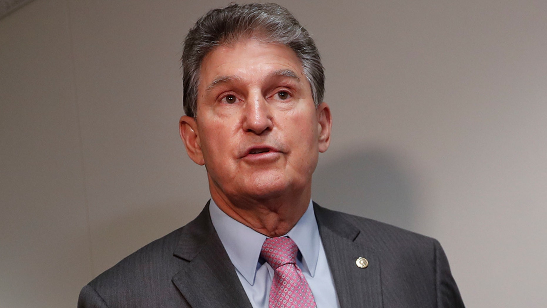 Sen. Joe Manchin on Tuesday revealed his intention to donate any paychecks he receives during the ongoing partial government shutdown to food banks in his home state.