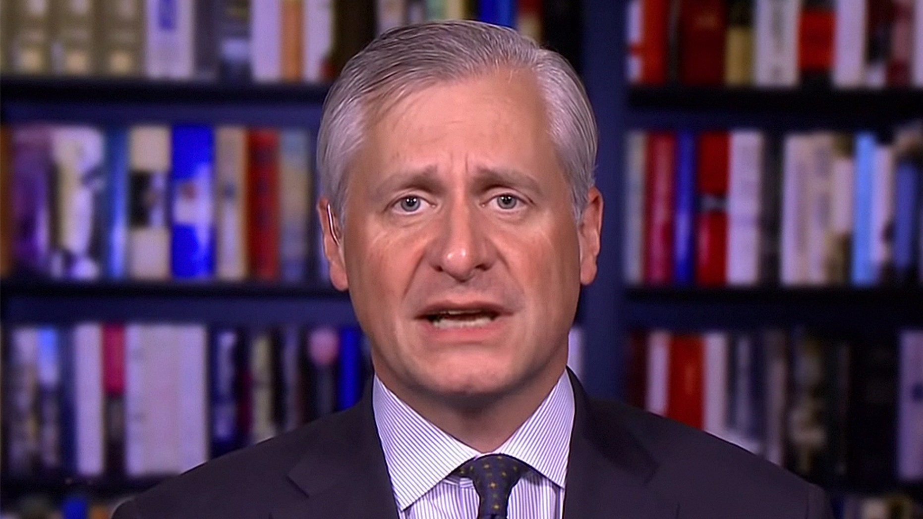 Frequent MSNBC guest Jon Meacham quoted a KKK-tied governor from 1924 when attempting to criticize the border wall.