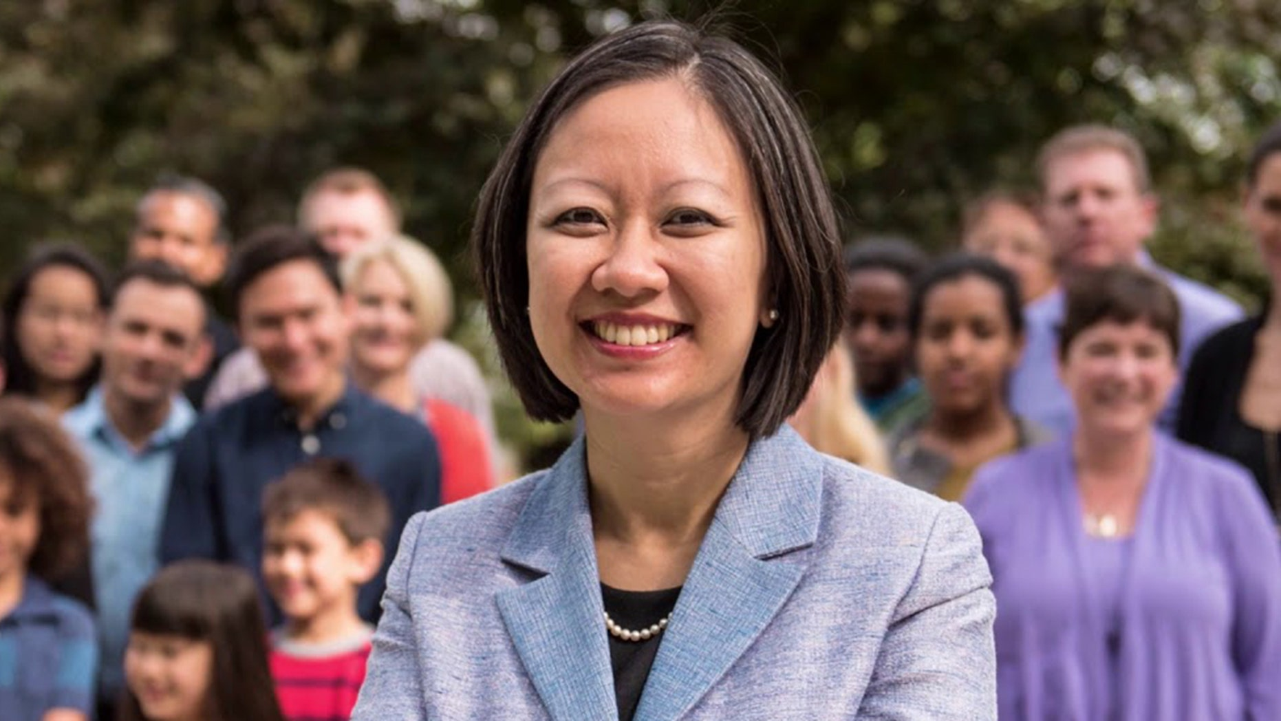 Virginia Democrat Del. Kathy Tran is the sponsor of the Repeal Act, which seeks to repeal restrictions on third-trimester abortions. (Kathyfordelegate.com)