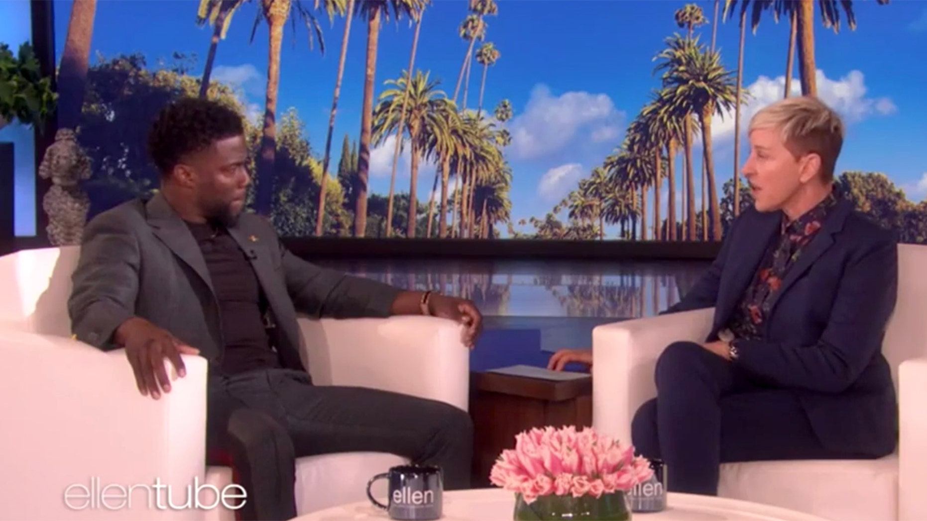 Ellen DeGeneres came under fire for defending Kevin Hart in an upcoming interview.