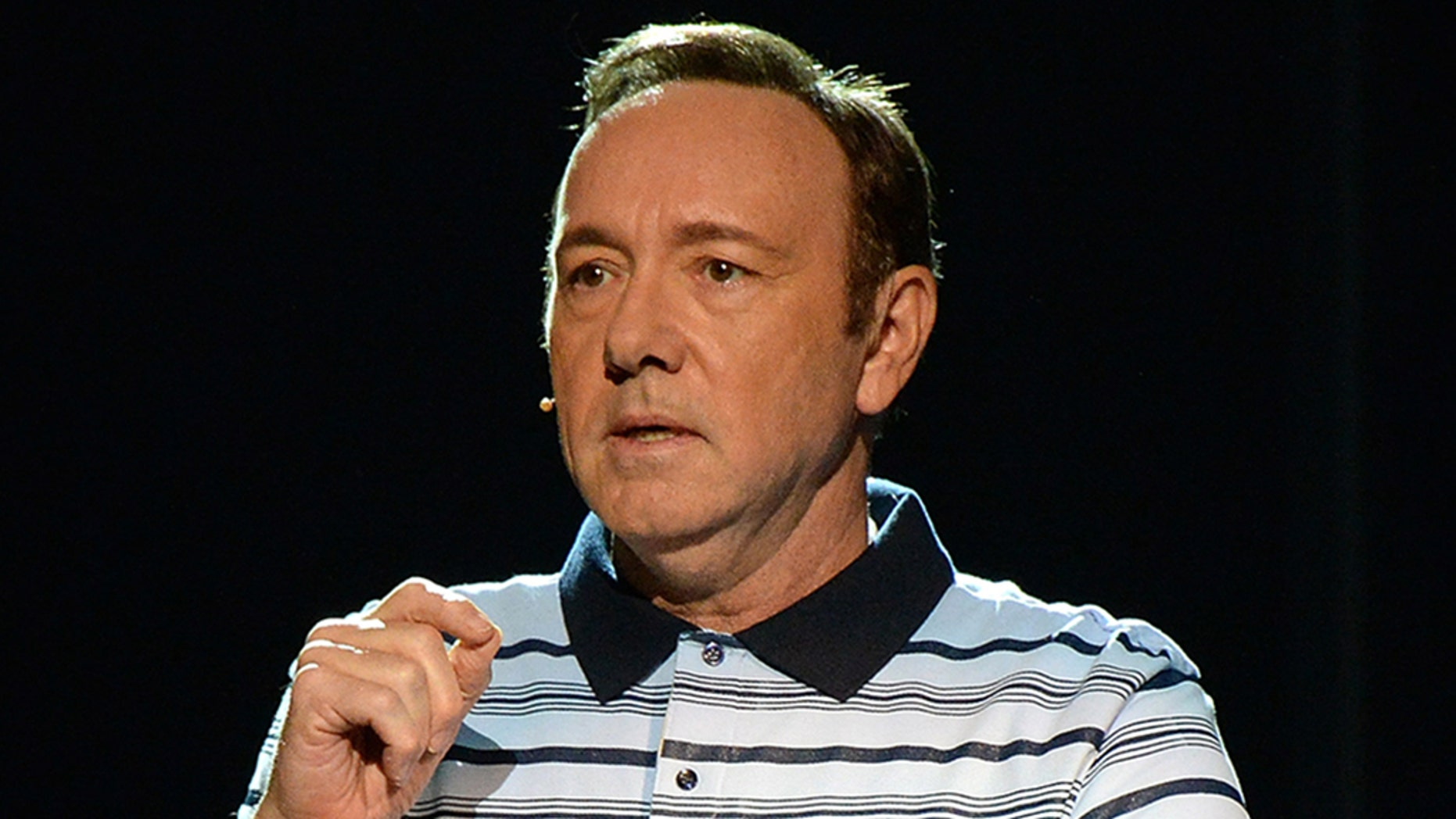 Kevin Spacey, wearing a