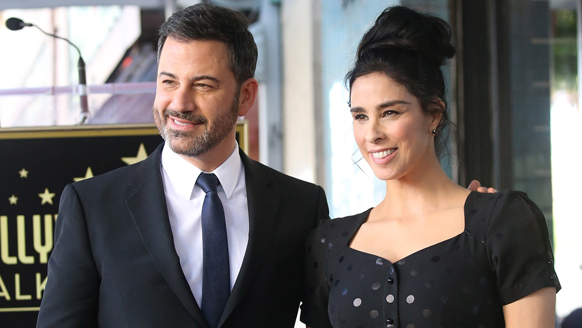 Jimmy Kimmel opened up about his ex, comedian Sarah Silverman.