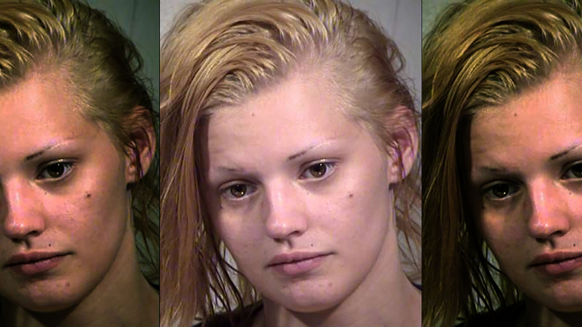This undated undated Clark County Detention Center booking photo shows Krystal Whipple, 21, of Las Vegas. (Las Vegas Metropolitan Police Department)