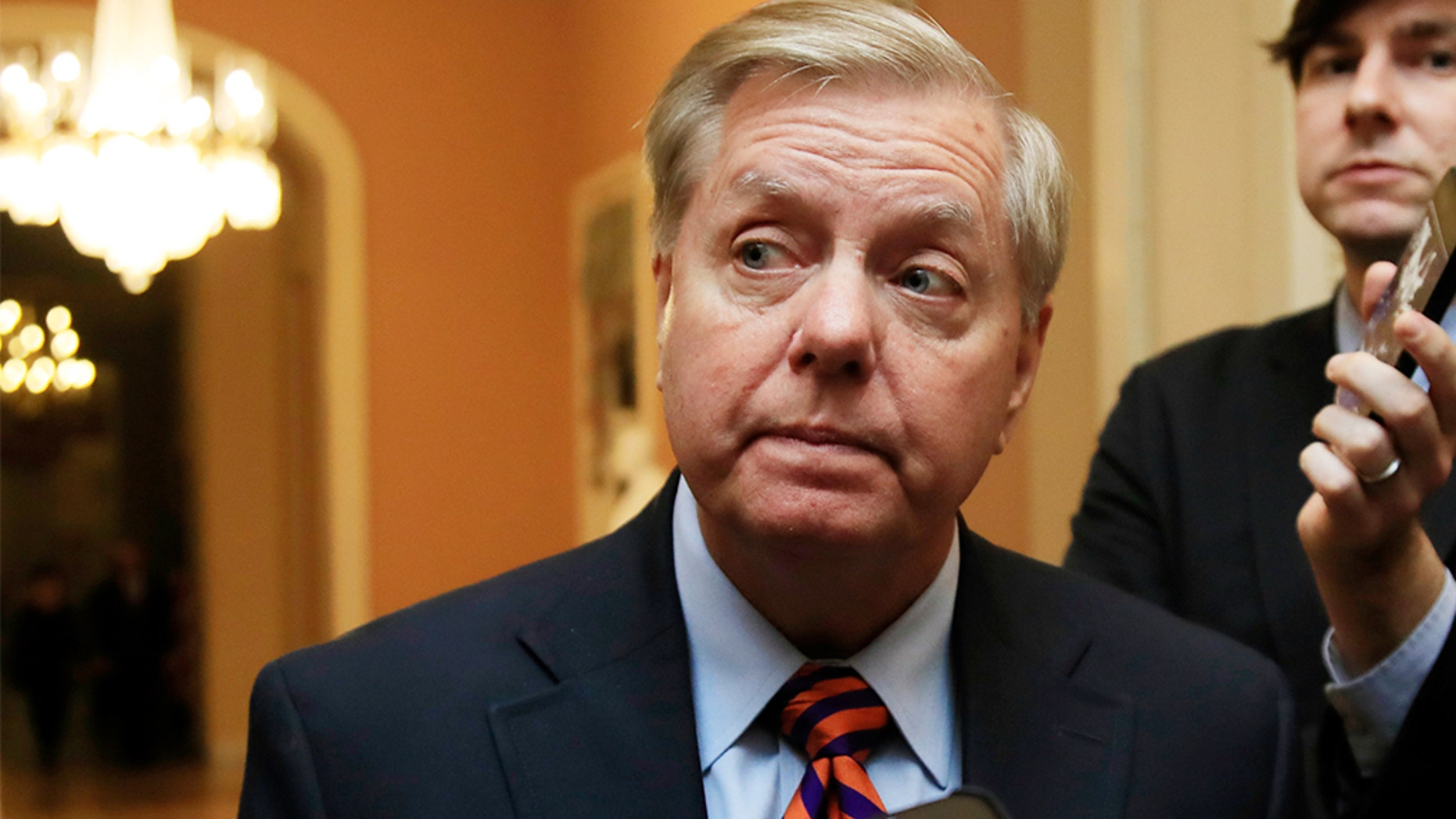 Sen. Lindsey Graham, R-S.C., was elected Wednesday to fulfill the role of chairman of the Senate Judiciary Committee.
