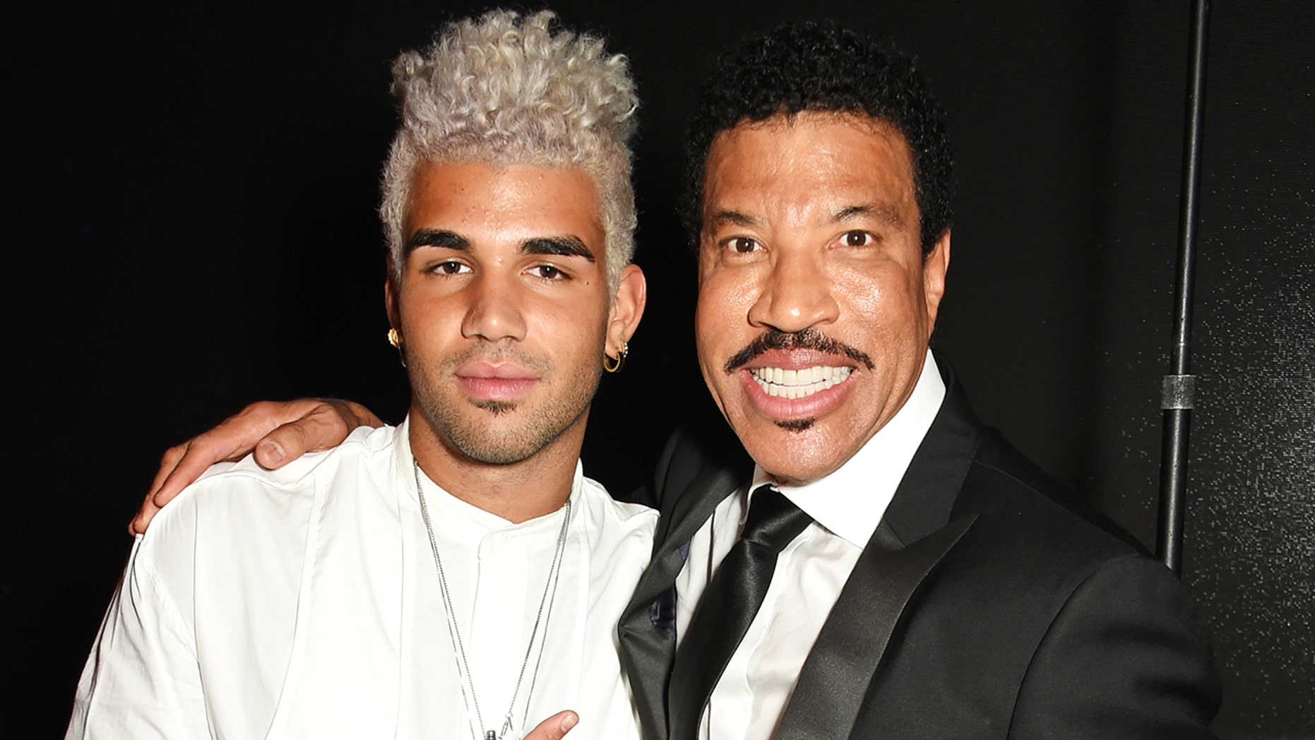 Lionel Richie's son, Miles, was reportedly involved in an incident at a London airport.