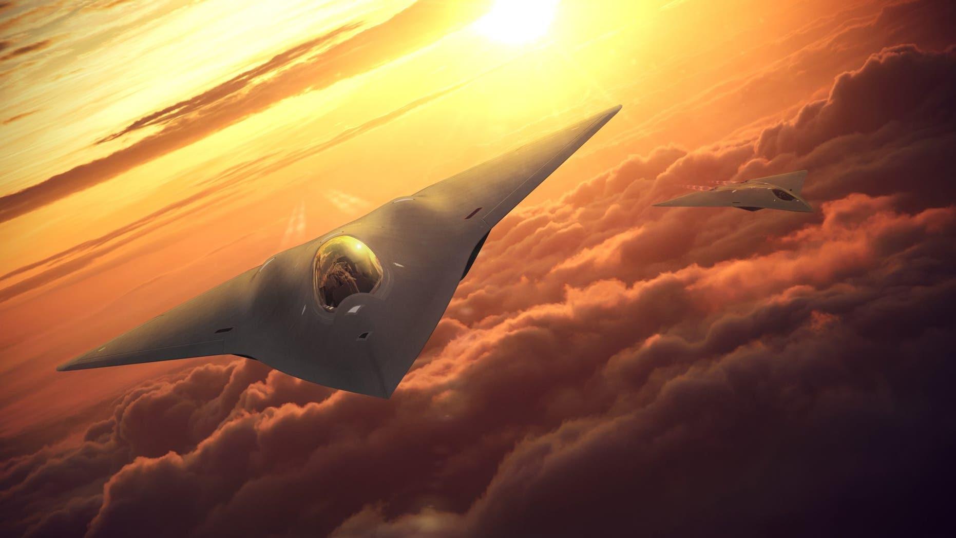 Fighter jet rendering (Lockheed Martin)