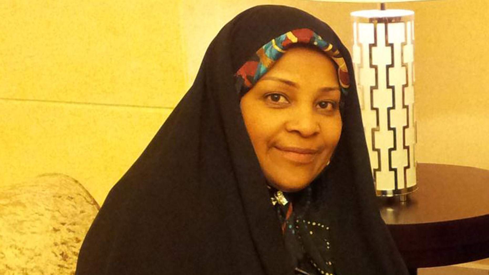 Iranian TV anchor Marzieh Hashemi, originally born in the U.S. was arrested after arriving in St. Louis on Sunday, the state broadcaster reported.