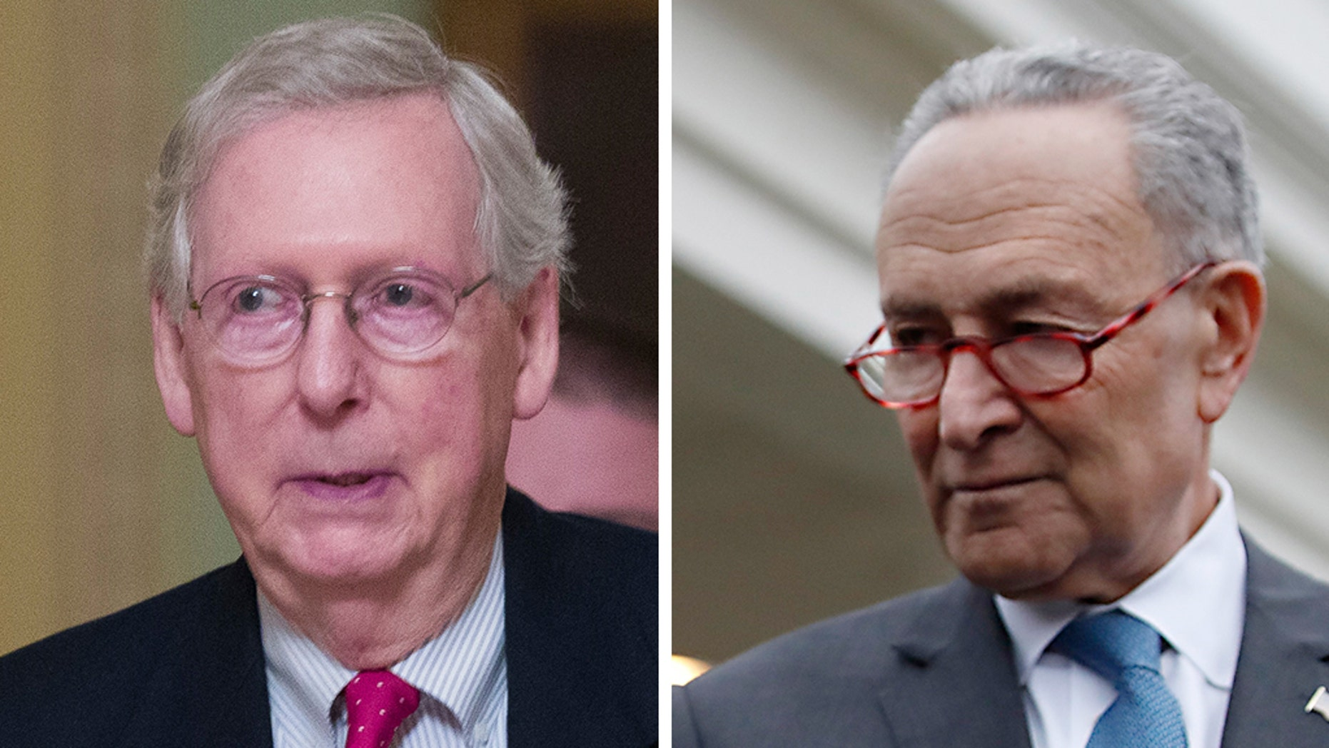 Senate Majority LeaderMitch McConnell, R-Ky., left, and Senate Minority LeaderCharles Schumer, D-N.Y., reached a deal that confirmed dozens of President Trump's nominees, a rare moment of bipartisan agreement as Congress prepares to wrap up its session.