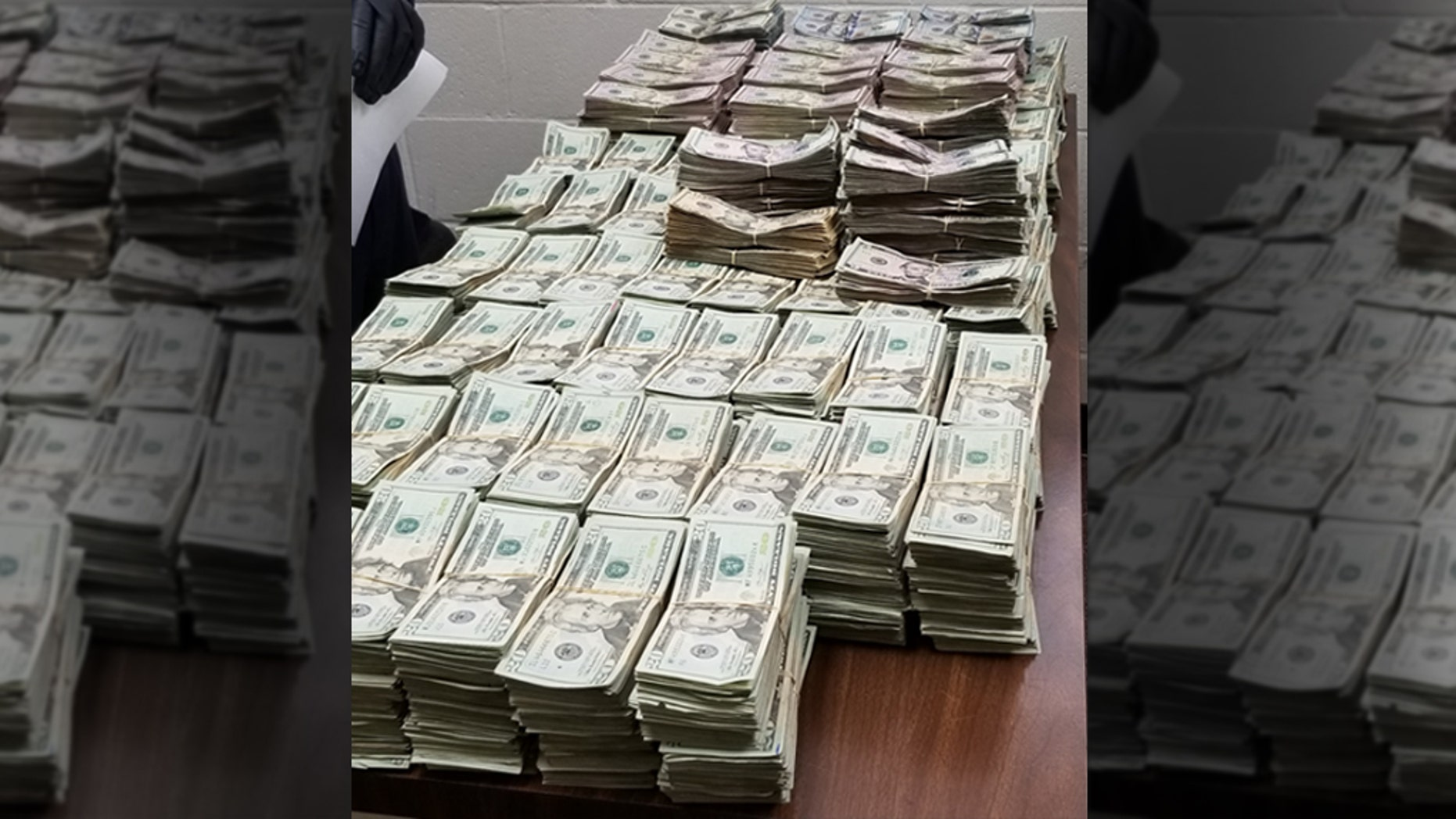 Stacks of bills totaling more than $1 million in unreported currency were seized by CBP officers during a recent 35-day period at Hidalgo/Pharr/Anzalduas Port of Entry.