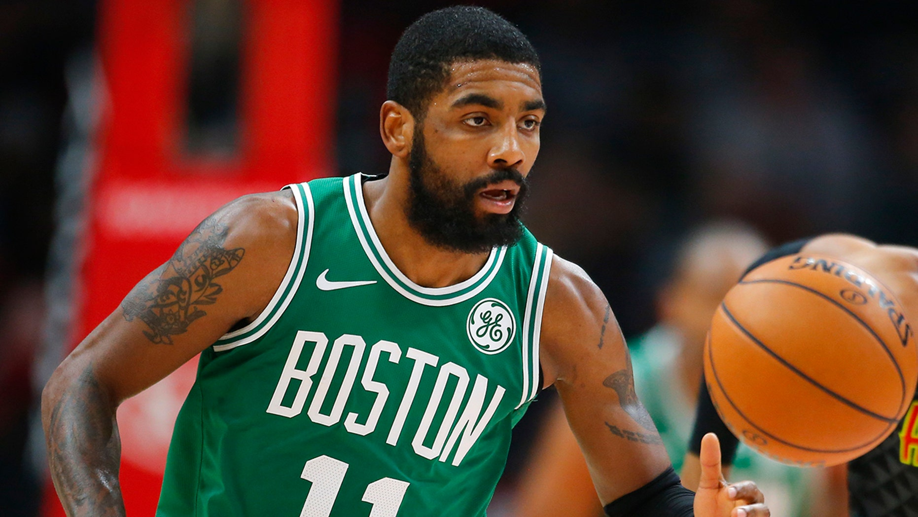 Boston Celtics guard Kyrie Irving is set to star in a film about an Oklahoma City hotel.