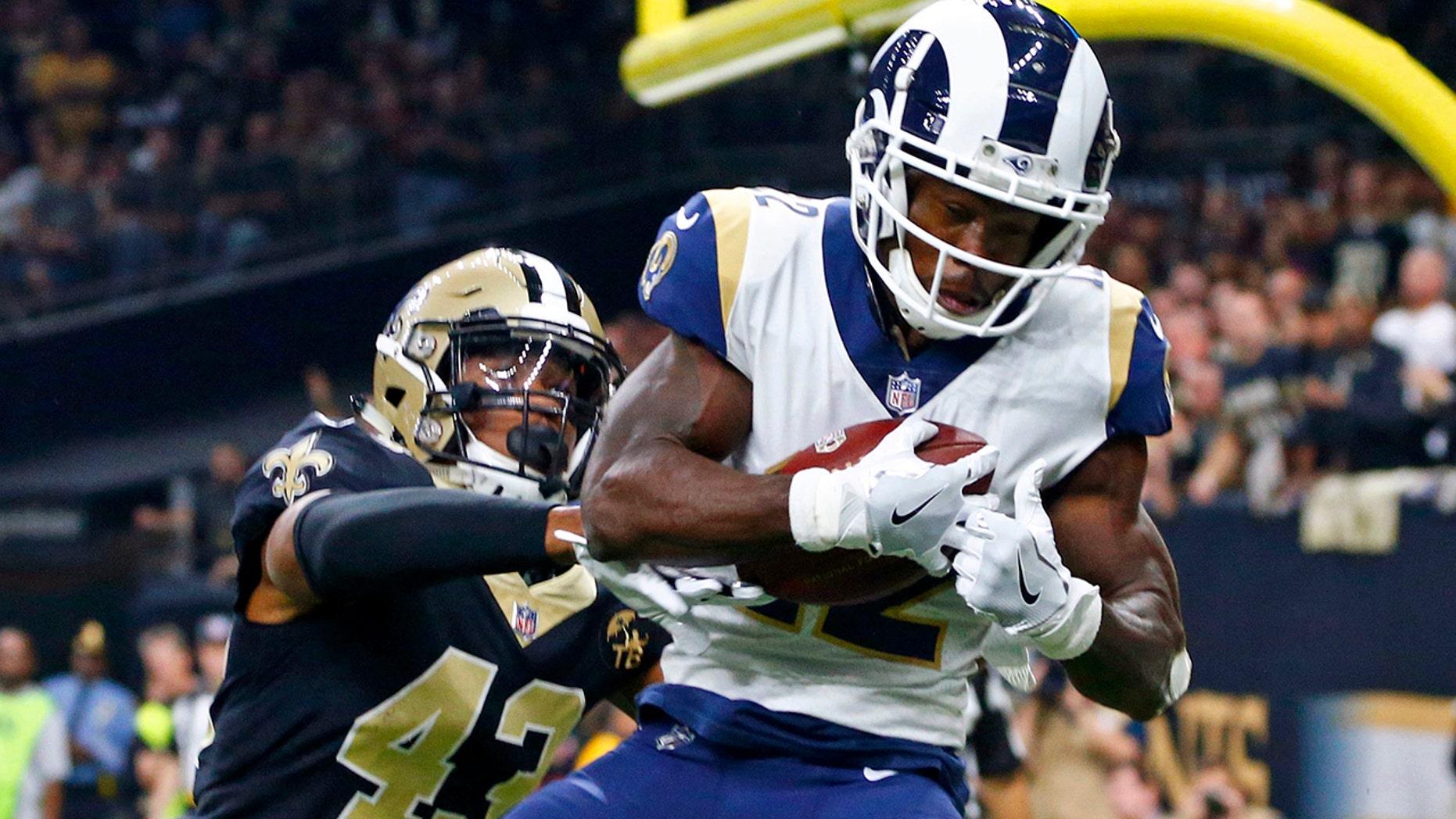 Brandin Cooks gave the Rams Custodian tickets for Super Bowl.