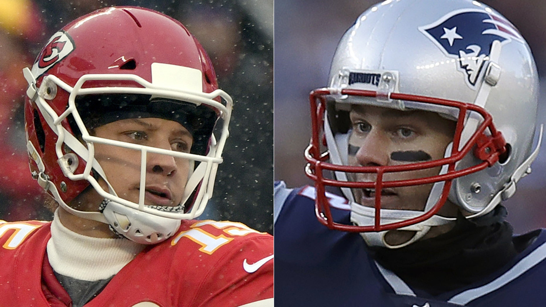 Patrick Mahomes and Tom Brady will face off for the second time this season.