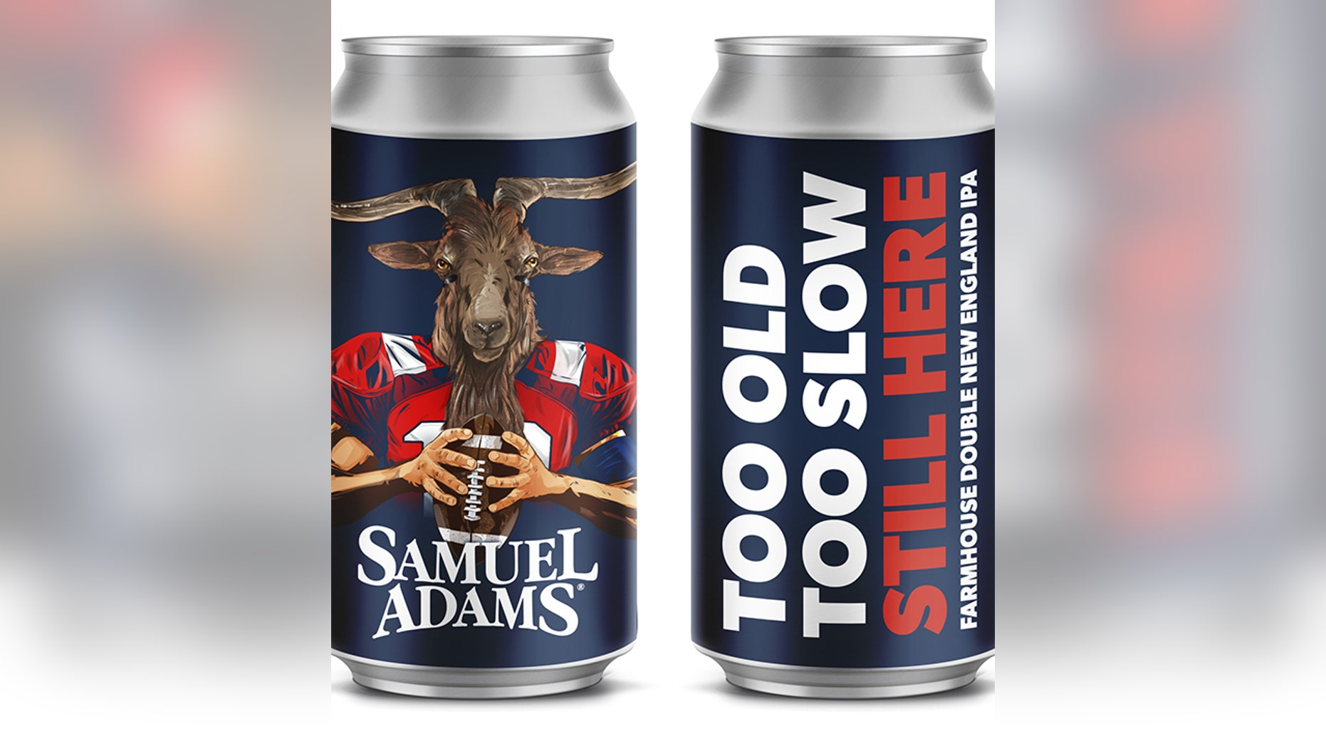 Samuel Adams' latest brew is dedicated to the New England Patriots.