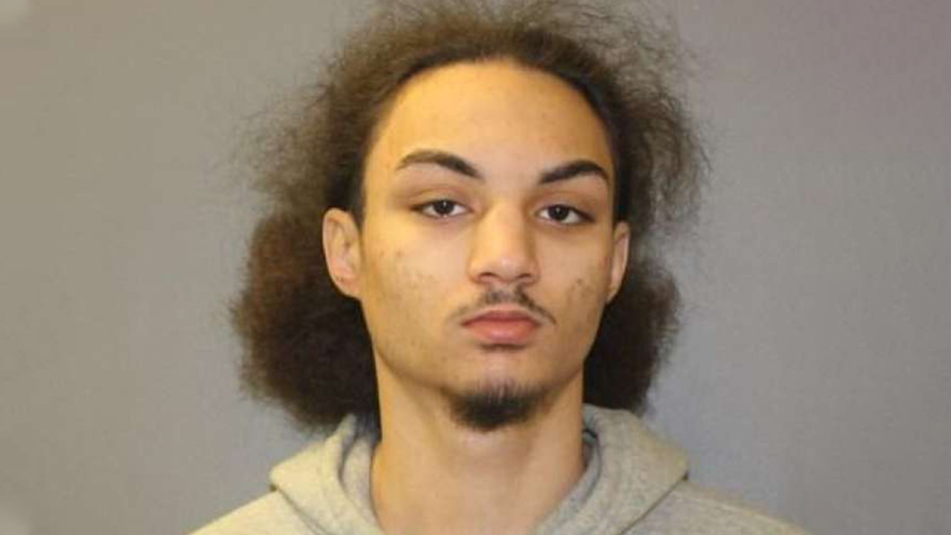 Naji Deneutte, 18, of Hamden, Connecticut, allegedly punctured a major artery in a woman's neck in front of her two children who are 11 and 12 years old. (Hamden Police Department)