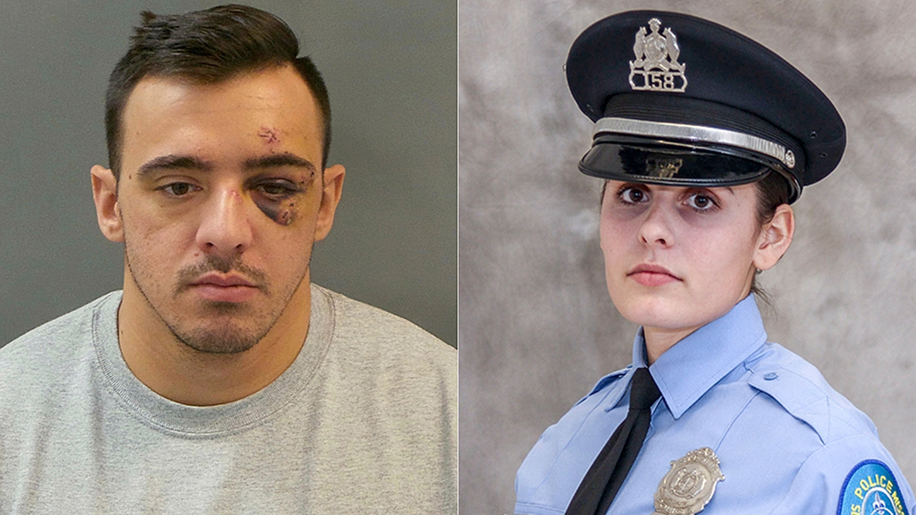 St. Louis police Officer Nathaniel Hendren, 29, faces charges of involuntary manslaughter in the shooting death of Officer Katlyn Alix, 24, authorities say.