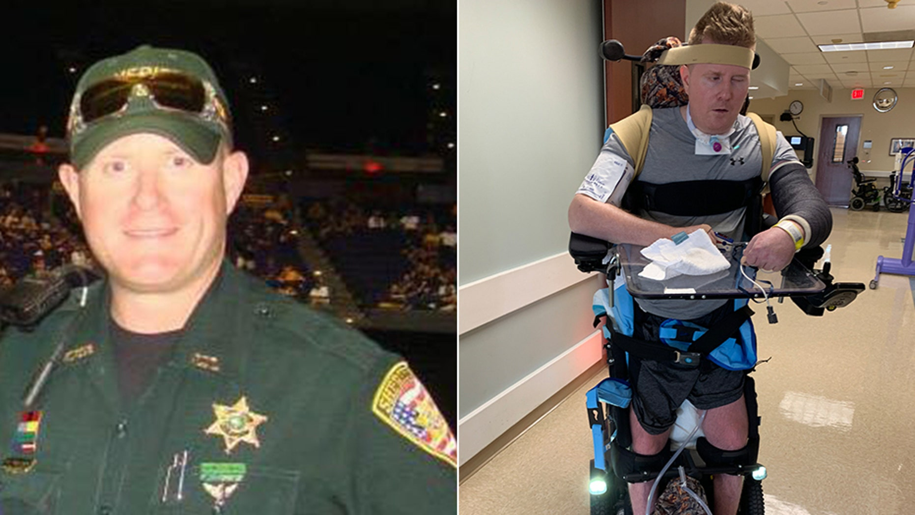 Nick Tullier, a former East Baton Rouge Sheriff's Deputy, has been battling injuries for more than two years after being targeted in an ambush attack in 2016. His father, James, tells Fox News that getting the treatment his son's medical team is seeking is sometimes more complicated than it should be -- and is adding strain to the recovery process.