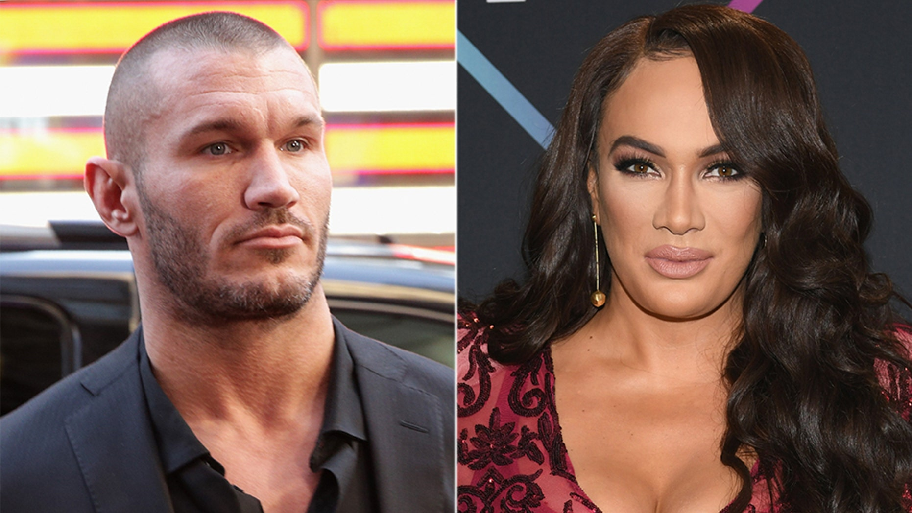 e63b05c5ef5a1 WWE stars Randy Orton, Nia Jax shock fans at Royal Rumble | Fox News