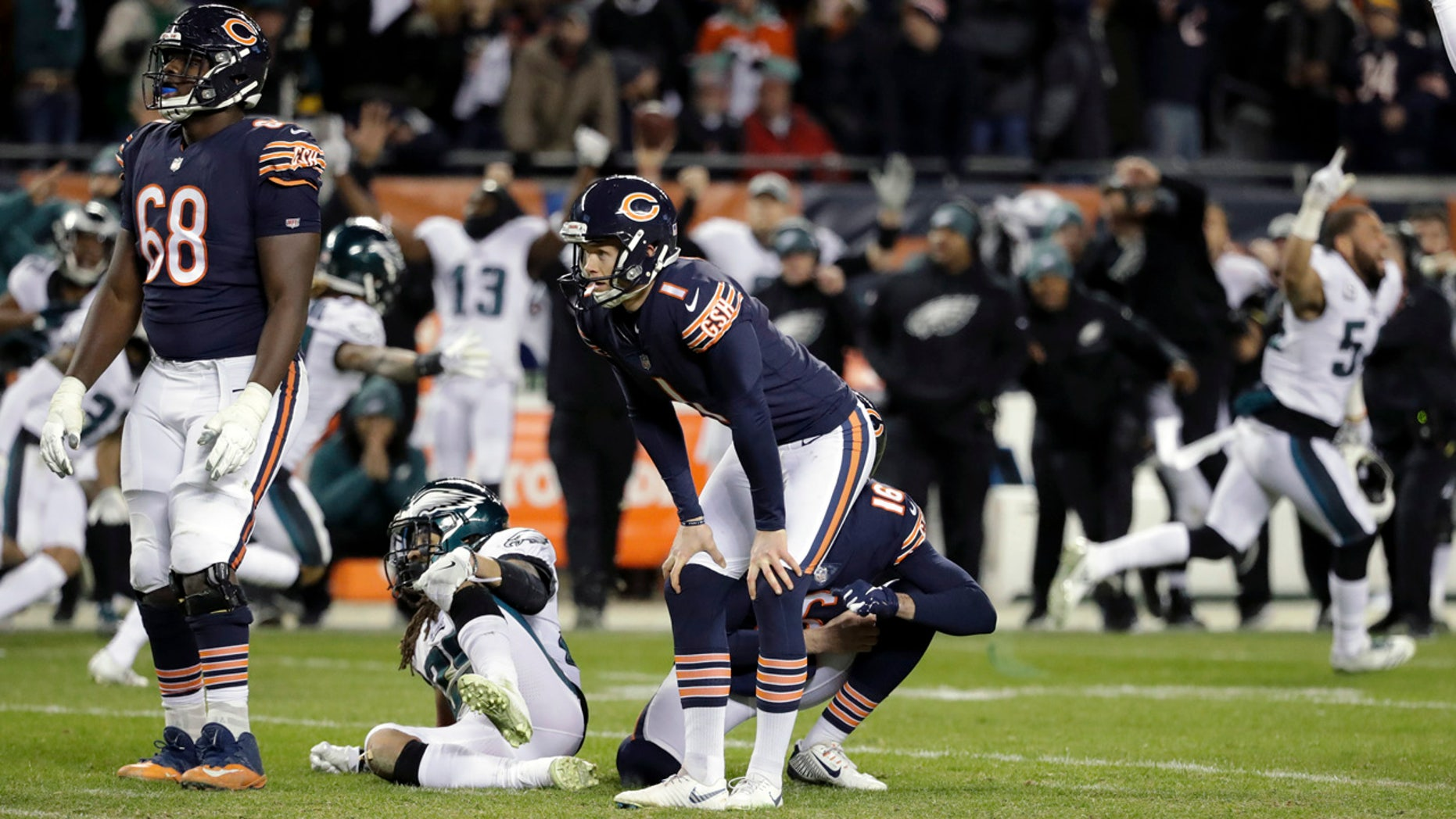 Eagles Edge Bears, Chargers Hold Off Ravens In NFL Wild