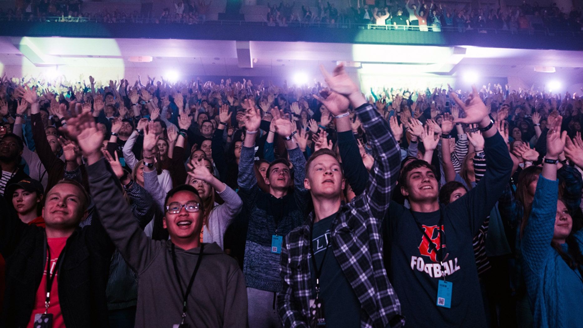Thousands of college students gather at Passion 2019 to help raise money to reach nations and people that have never heard the gospel before.