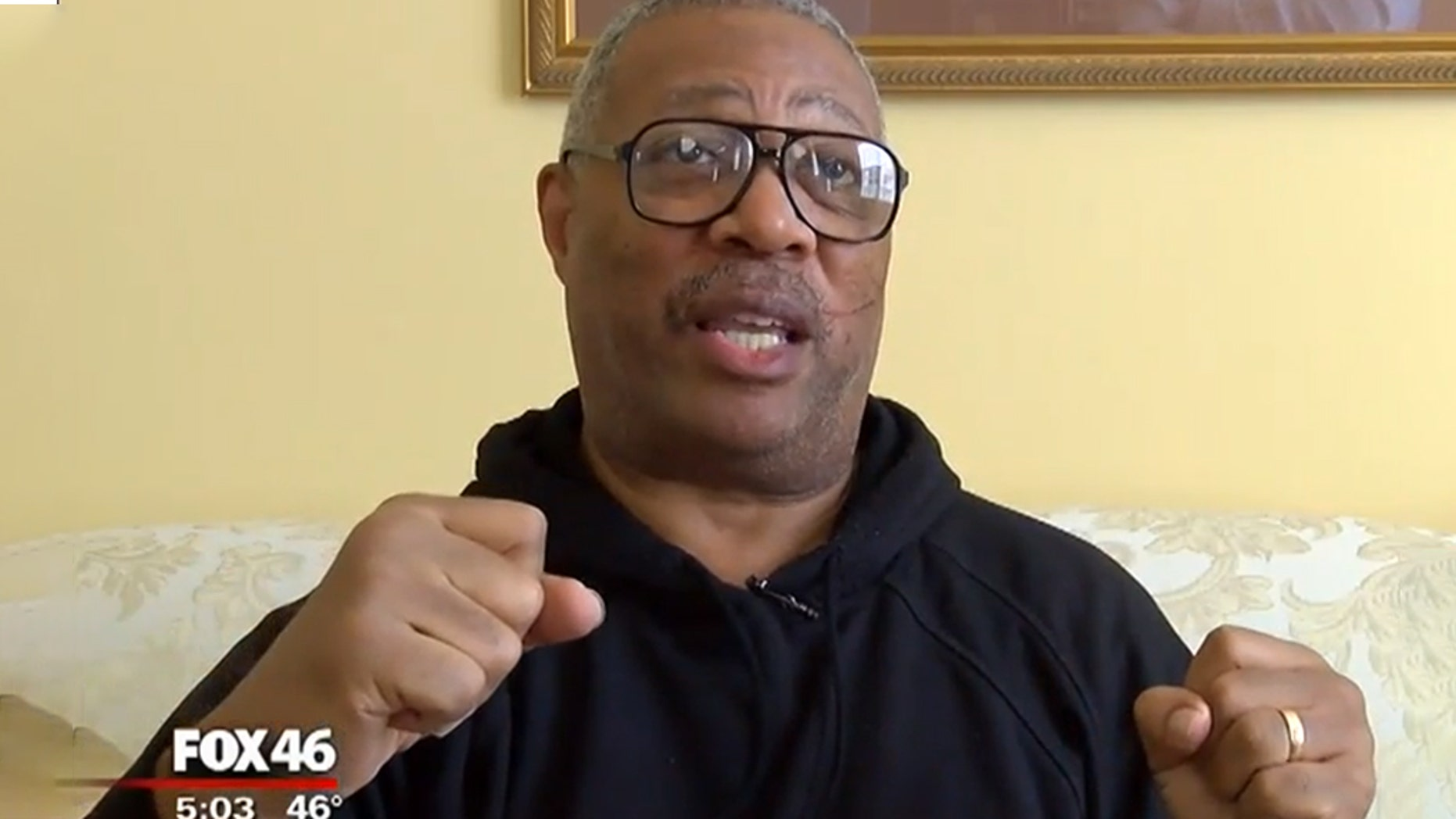 Larry James, a pastor at South End Presbyterian Church in North Carolina, said he fought off an attacker who came into his church Wednesday afternoon moments before the suspect was fatally shot by a Charlotte-Mecklenburg police officer. (Fox 46)