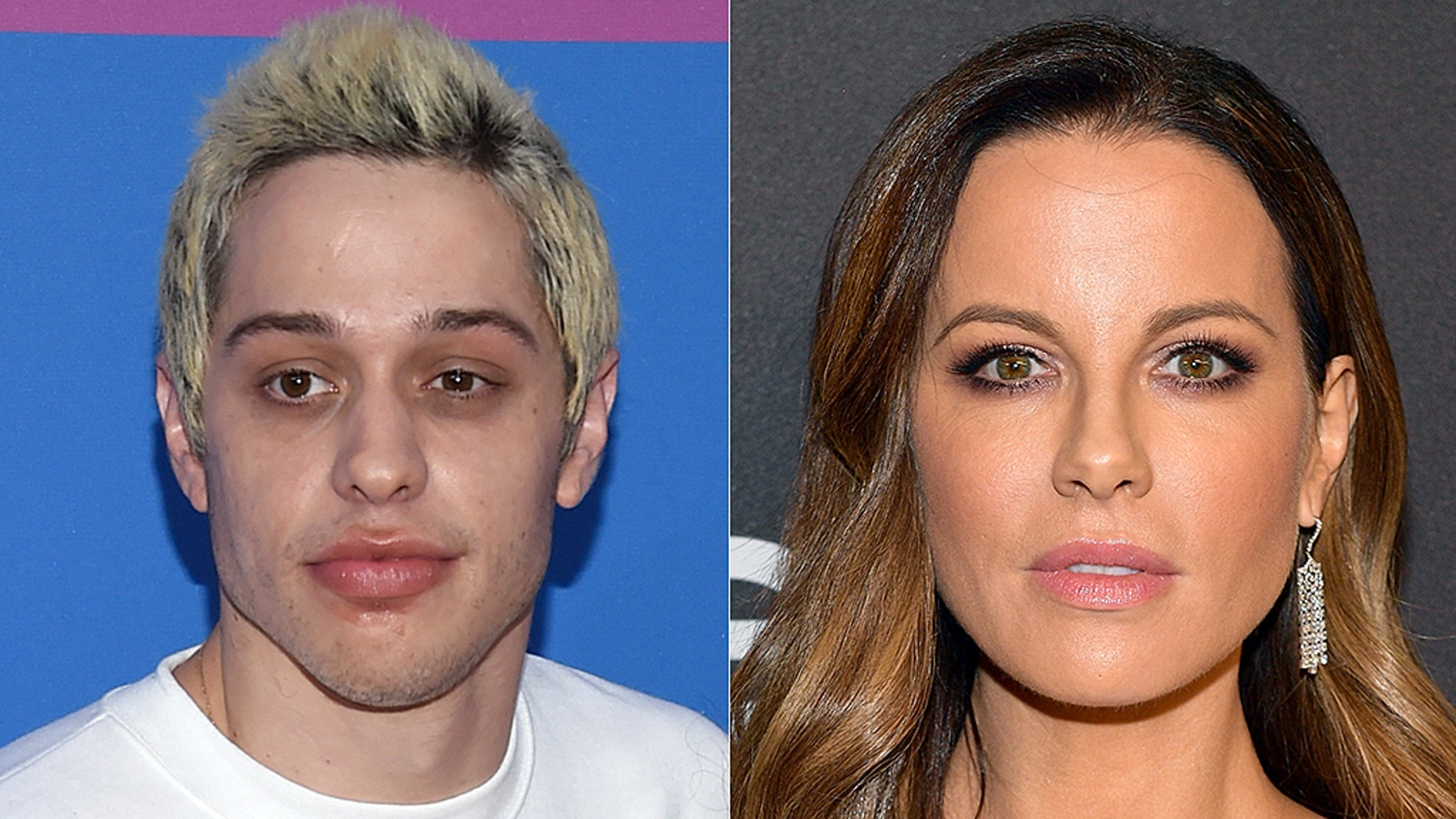Pete Davidson and actress Kate Beckinsale reportedly left together following a Golden Globes party.