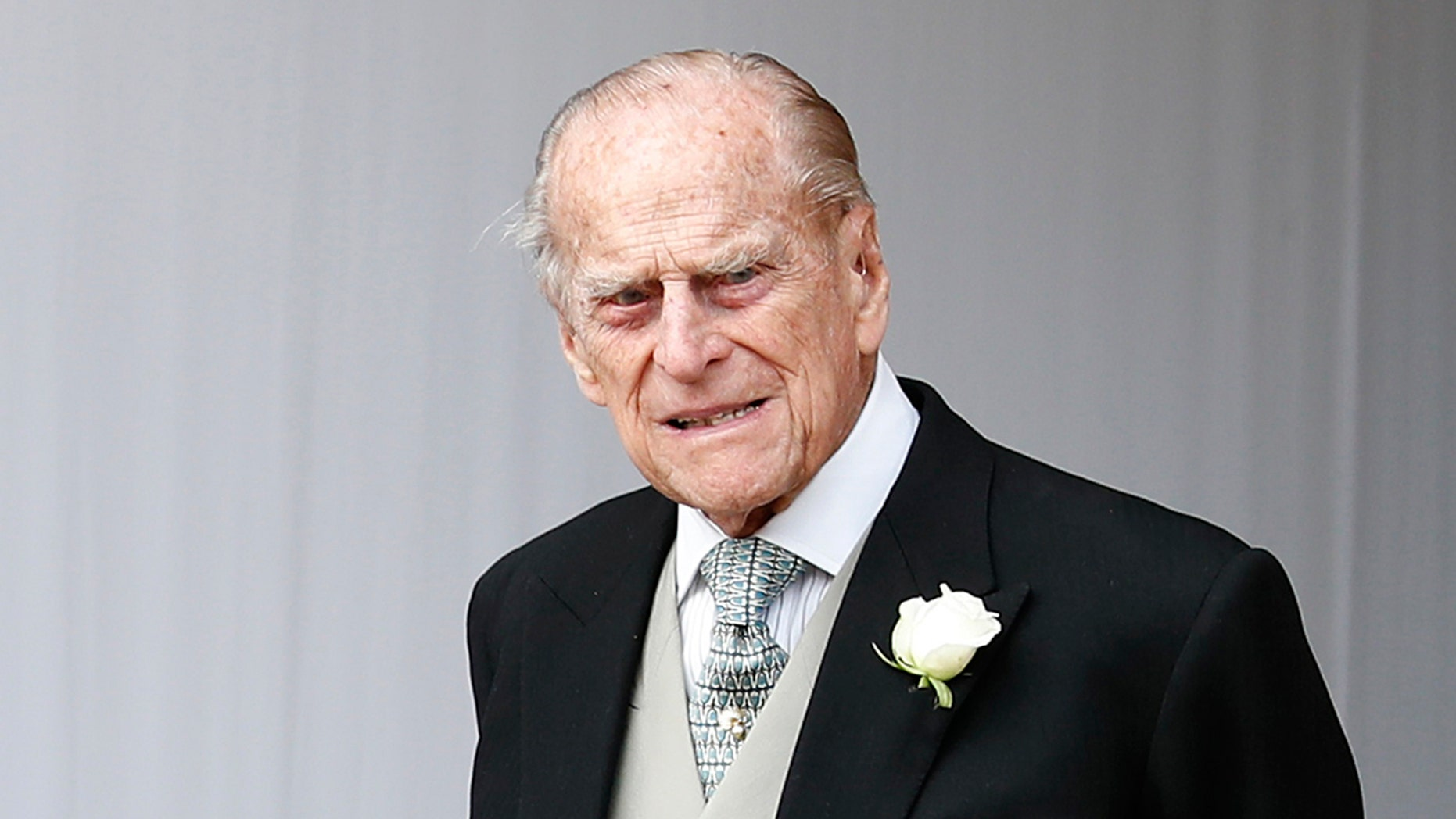 FILE- Prince Philip has apologized to a mother-of-two who was injured when the car she was riding in collided with a Land Rover he was driving on Jan. 17. (AP Photo/Alastair Grant)