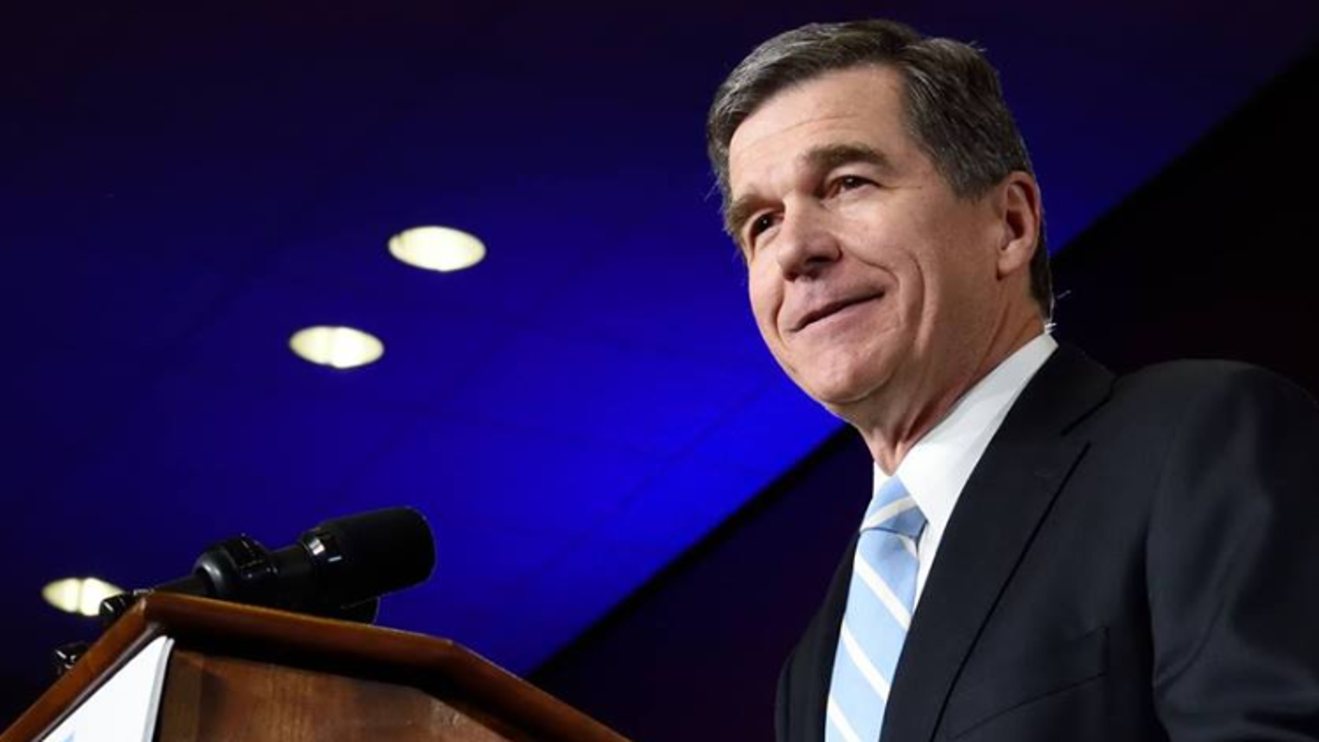 Then Gov.-elect Roy Cooper at an event in 2016. (Facebook)
