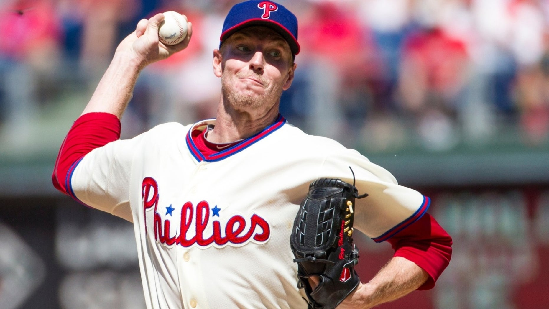 Late Mlb Starting Pitcher Roy Halladay Will Not Have A Logo On The Cap Of His