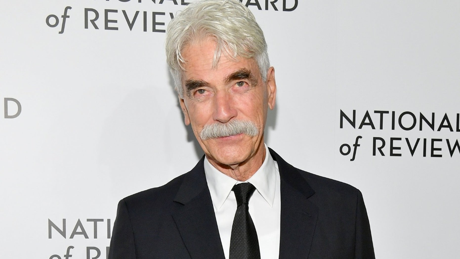 """Sam Elliott joked that it was """"about f---ing time"""" after being nominated for his first Academy Award."""
