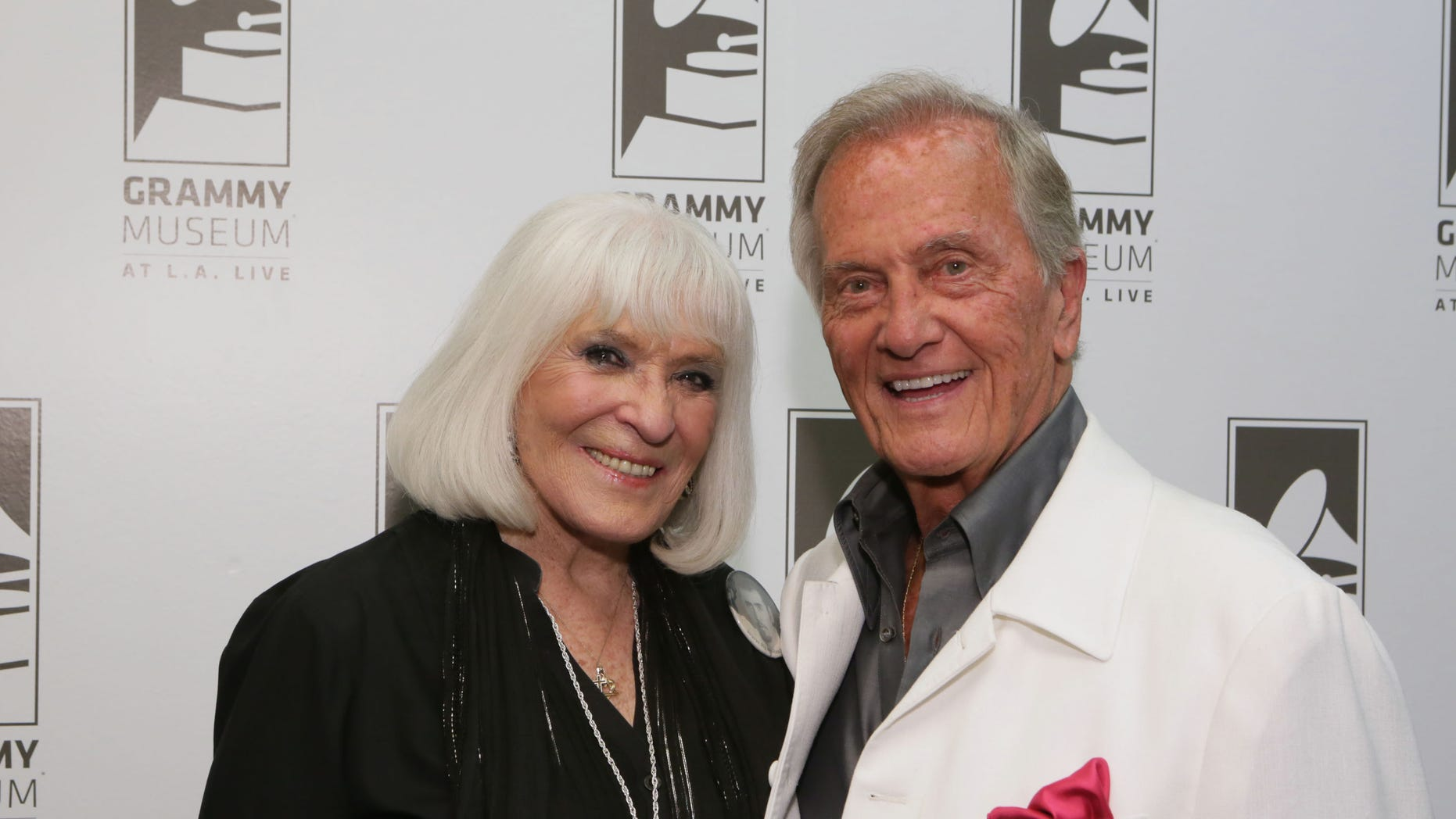 Shirley Boone, who was married to celebrated singer and actor Pat Boone, reportedly died Friday at age 84. (Getty Images)