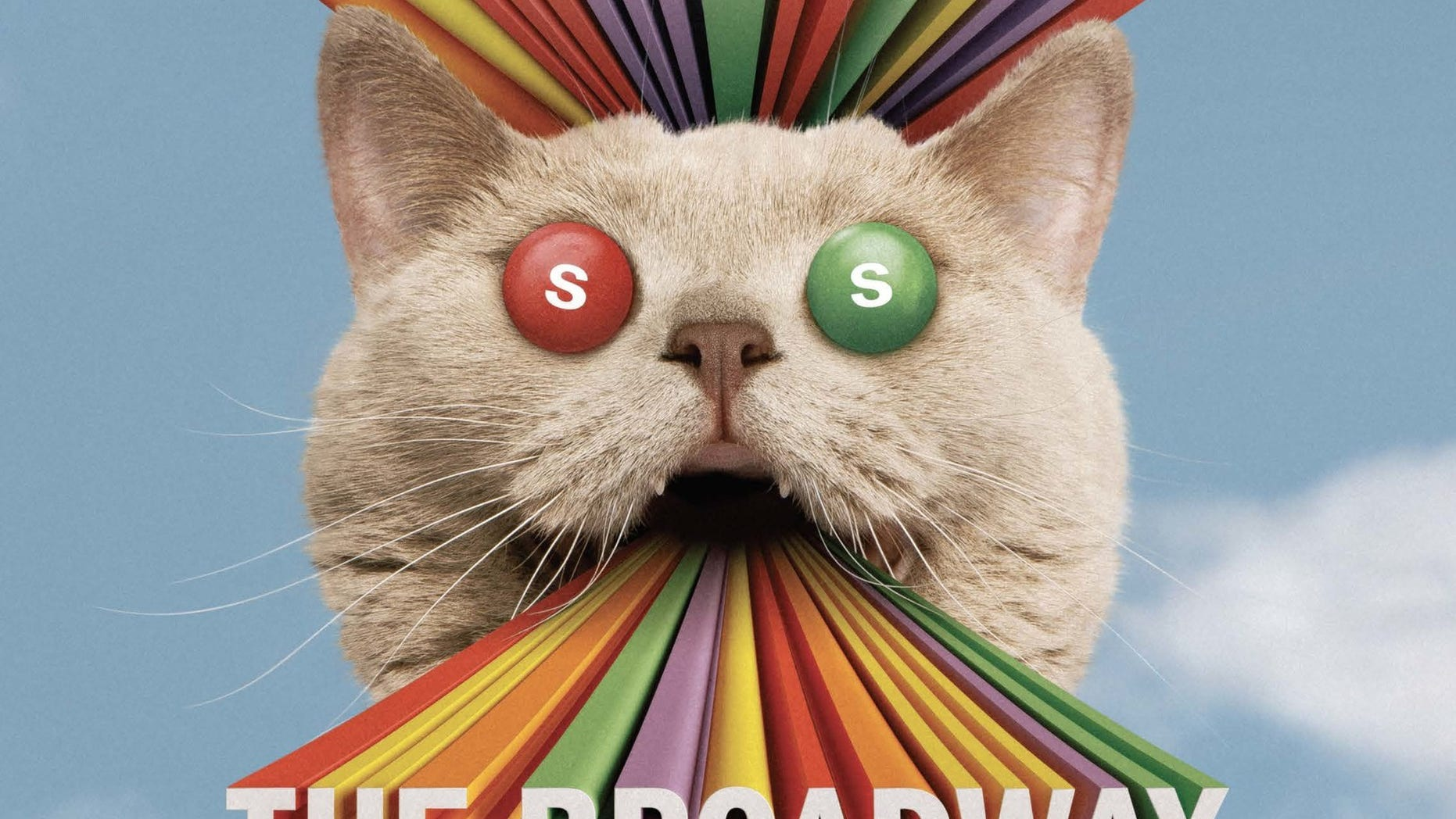 """""""Skittles Commercial: The Broadway Musical"""" is hitting the stage Super Bowl Sunday."""