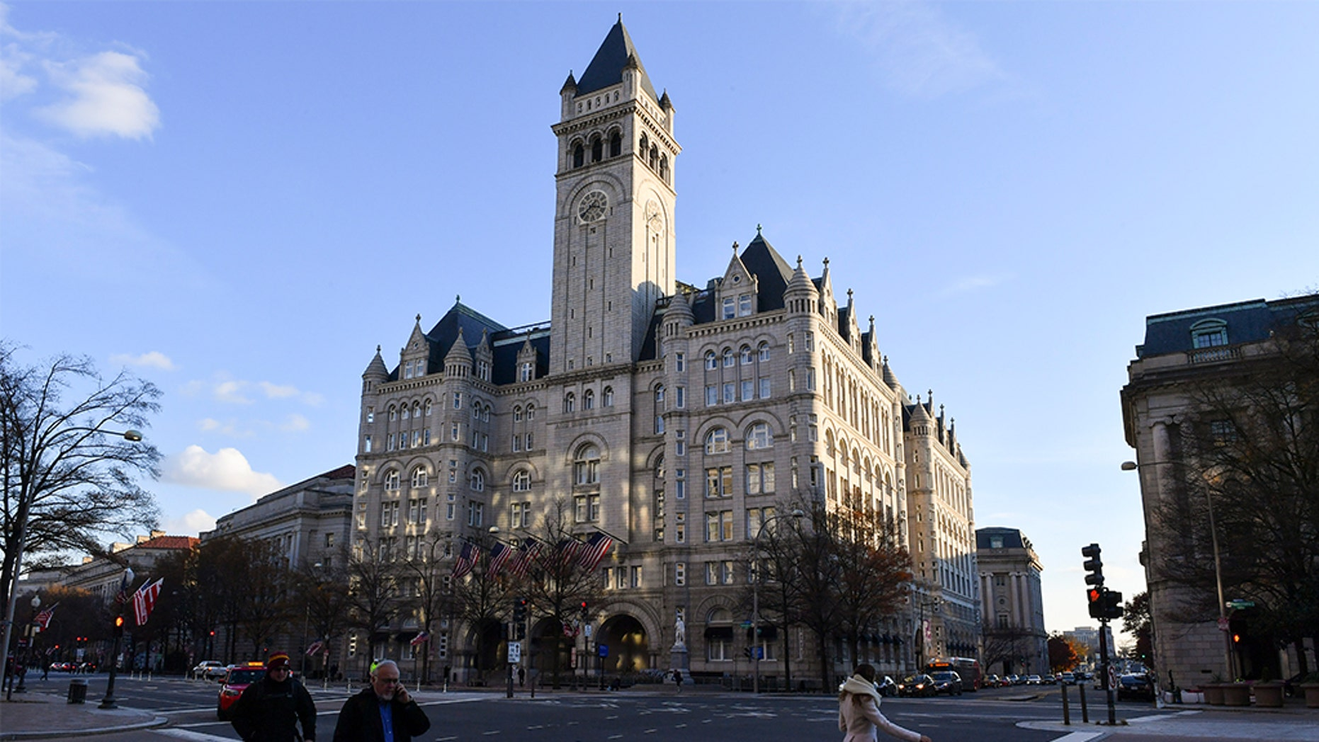 The inspector general for the General Services Administration says the agency improperly ignored the U.S. Constitution's emoluments provision outlawing foreign gifts when it approved President Trump's management of his Washington hotel soon after his 2016 election.(Ricky Carioti/The Washington Post via Getty Images, File)