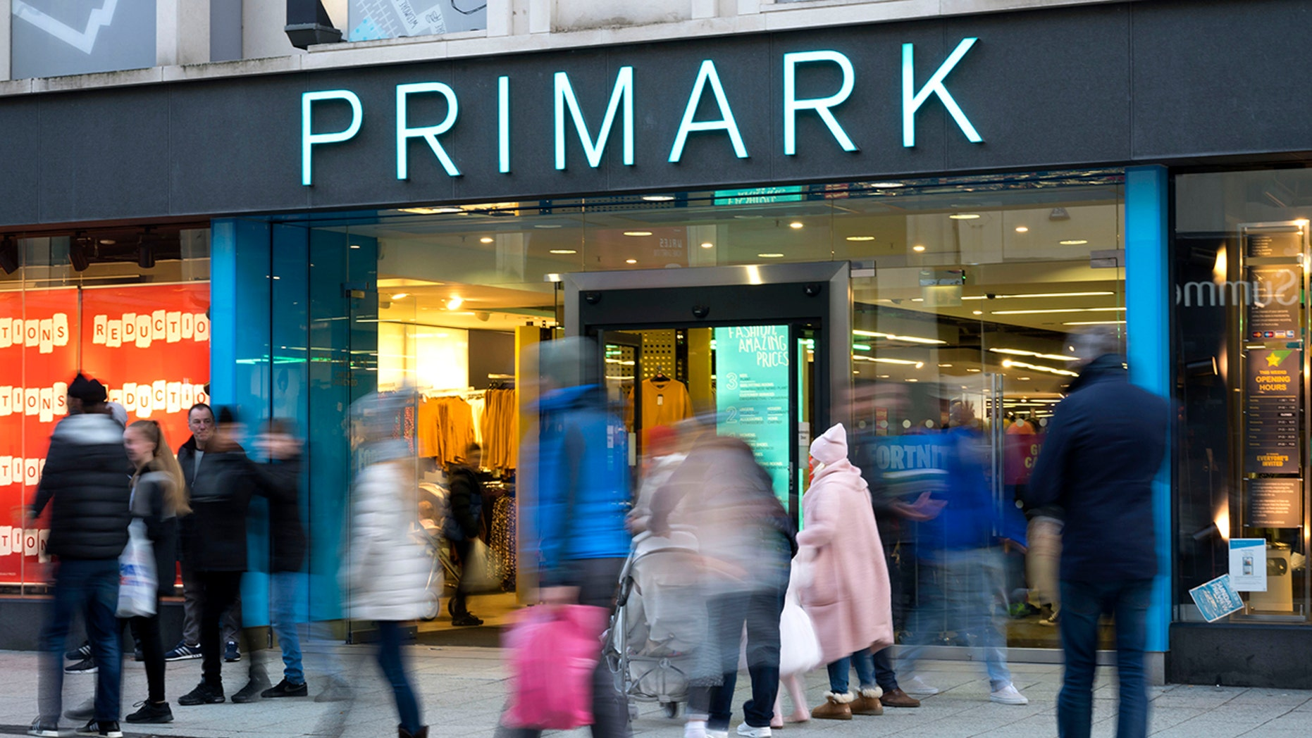 A Primark customer made a grisly discovery.