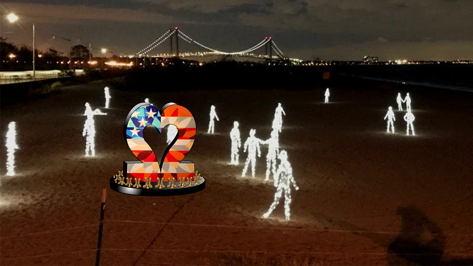Artist Scott LoBaido on Wednesday said his latest creative endeavor is an installation that seeks to bring attention to suicide rates among veterans.
