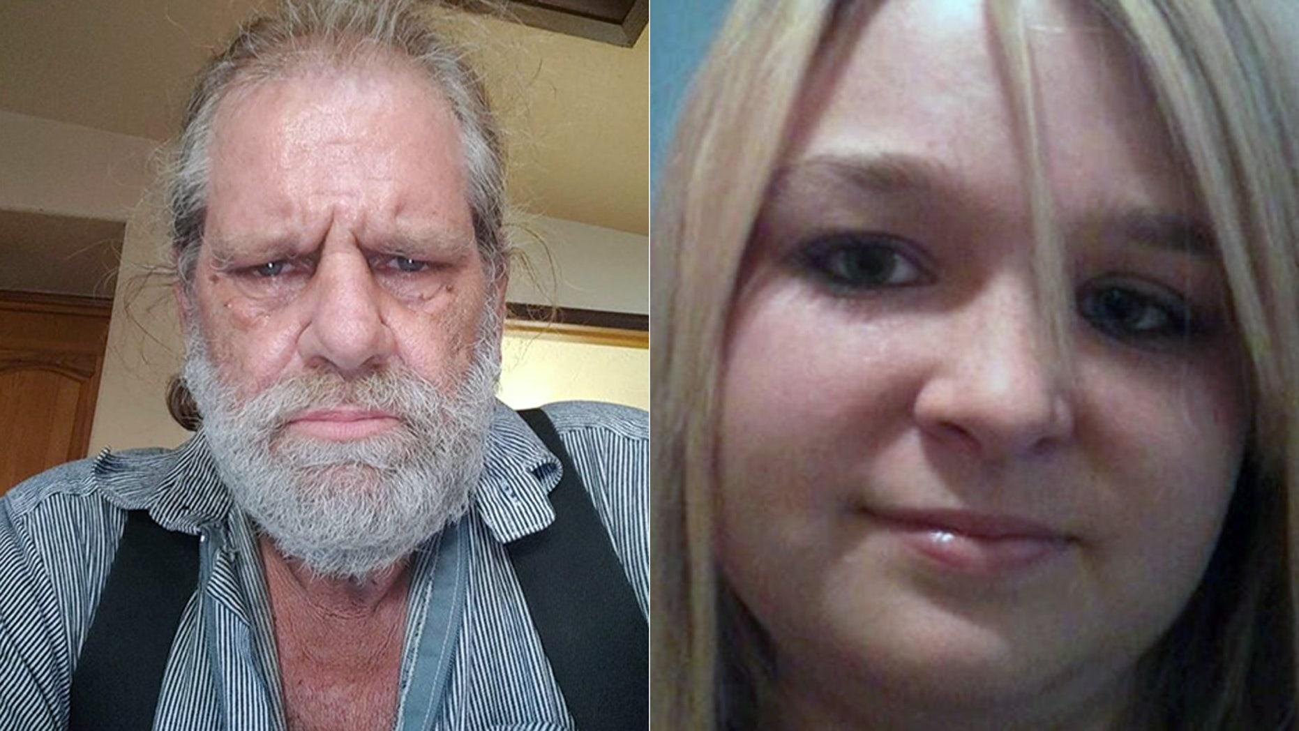 Shooting victims Darrell Iverson and Tiffany May.
