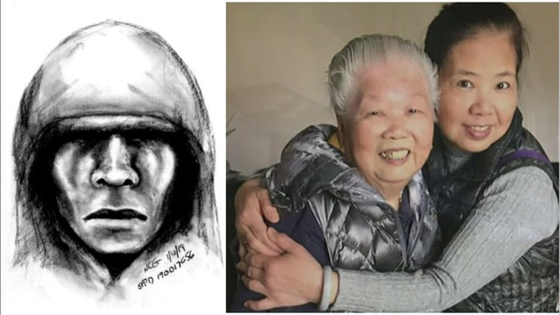 Authorities arrested a suspect in the brutal attack of Yik Oihuang, 88, which happened earlier this month.